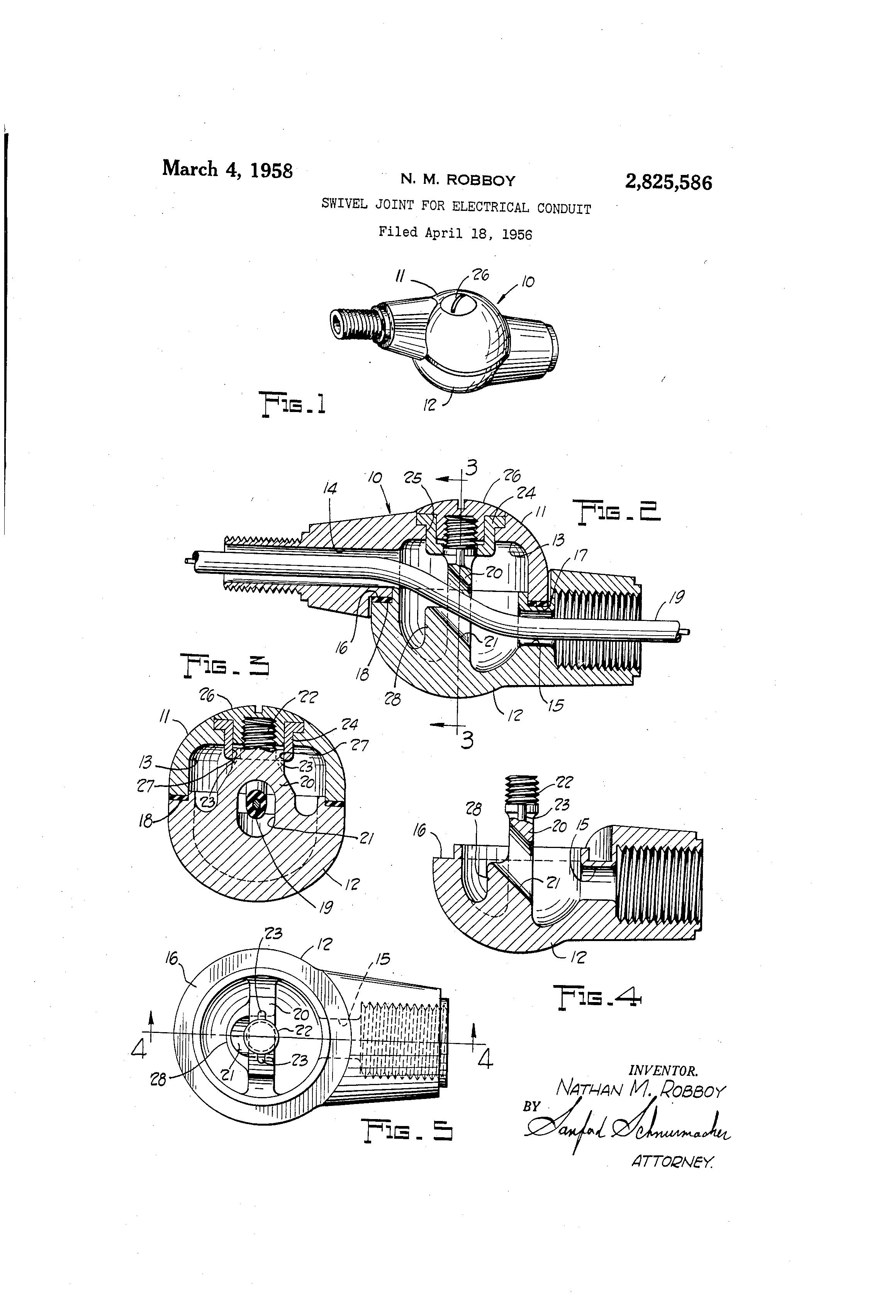 patent us2825586