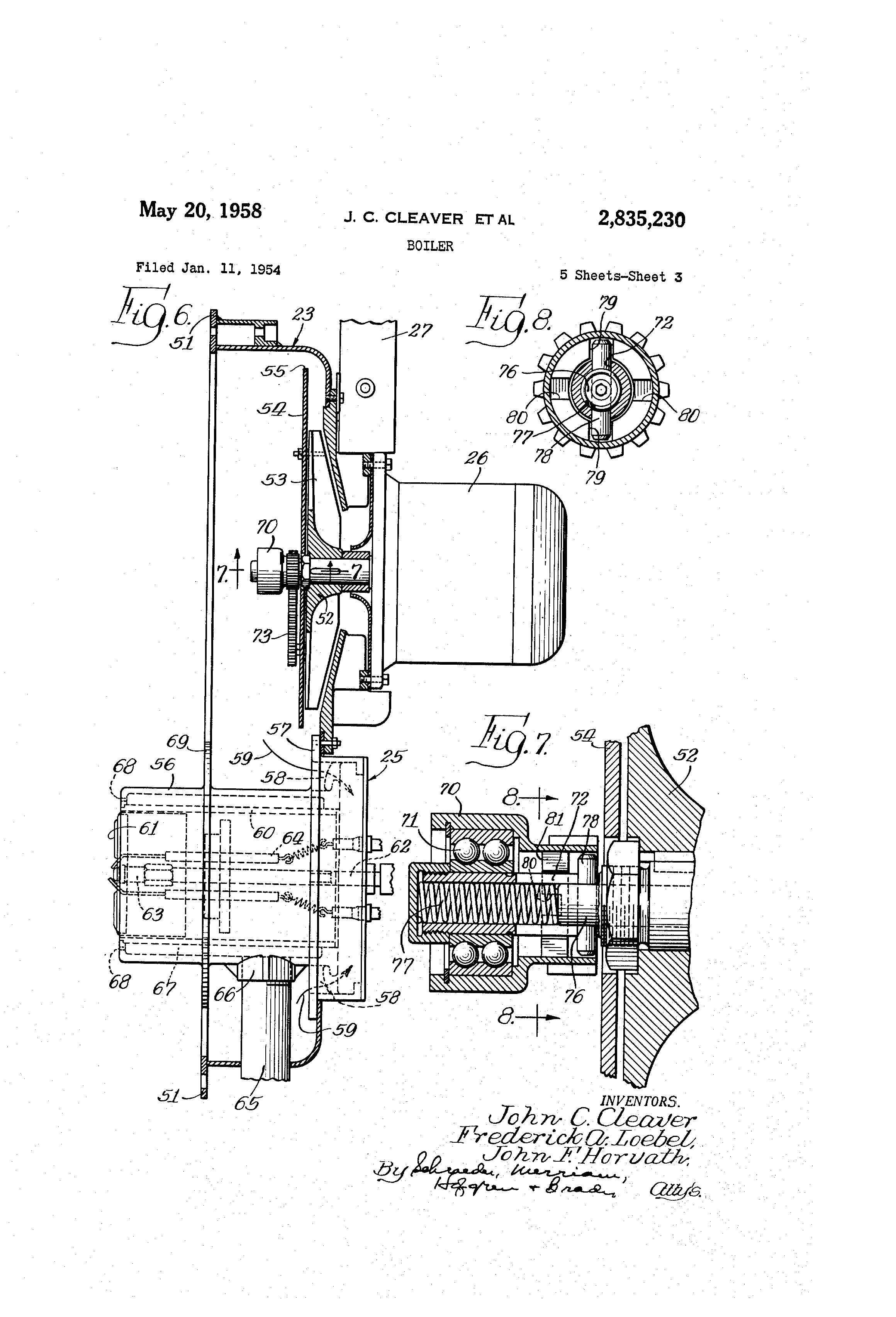 cleaver brooks auto electrical wiring diagrampatent us2835230 boiler