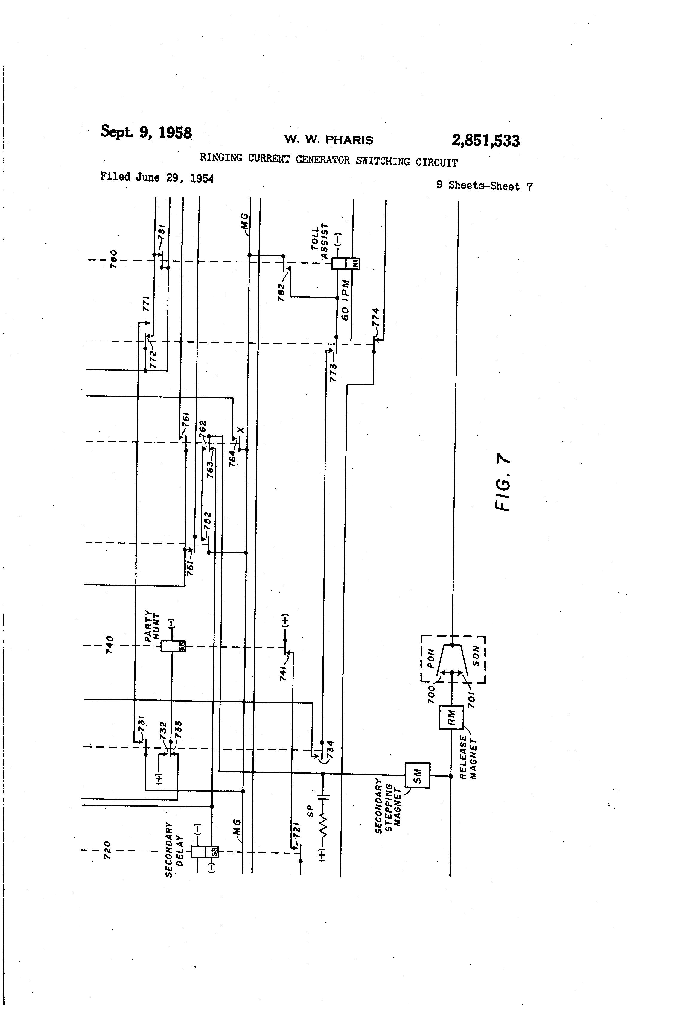 patent us2851533