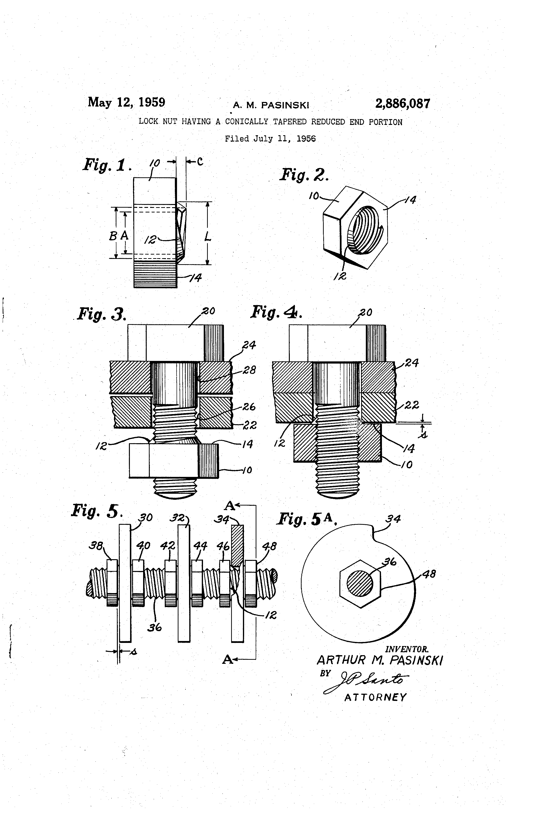 patent us2886087