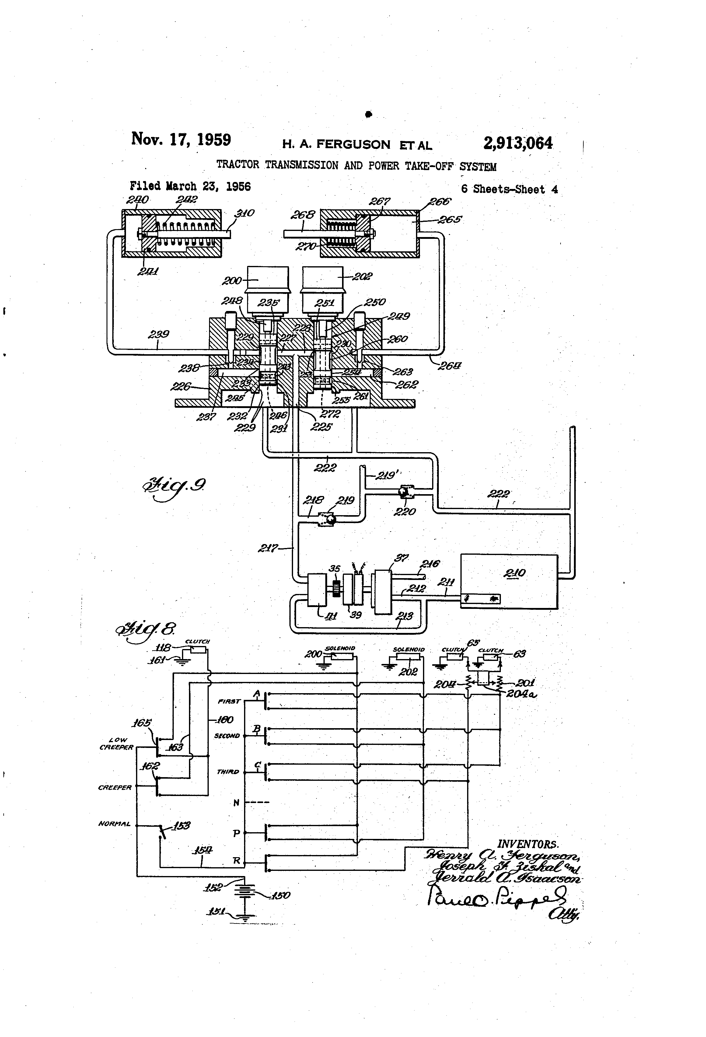 Tractor Transmission System : Patent us tractor transmission and power take off
