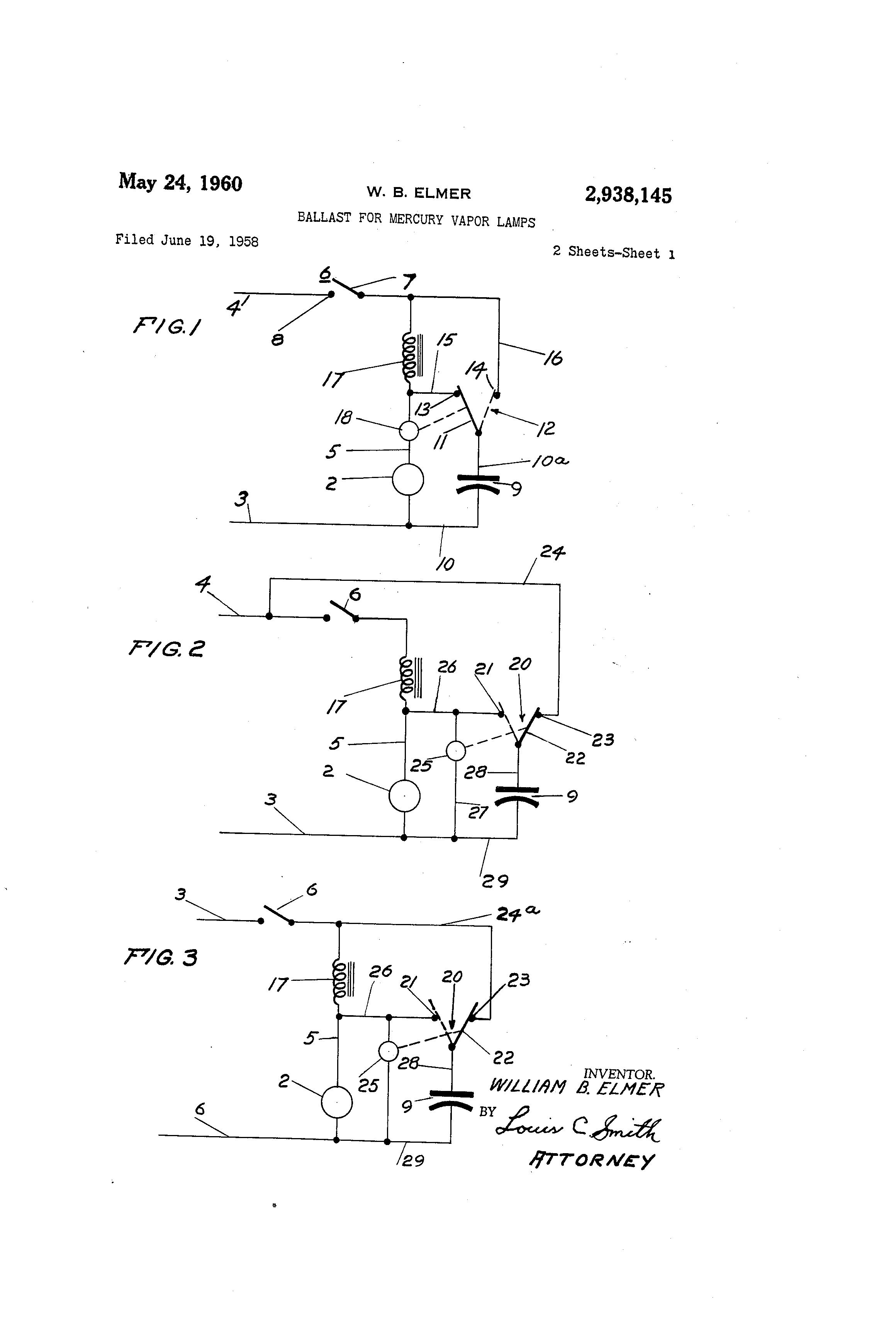 Wiring Diagram Of Mercury Vapour Lamp : Sodium vapor lamp wiring diagram metal halide