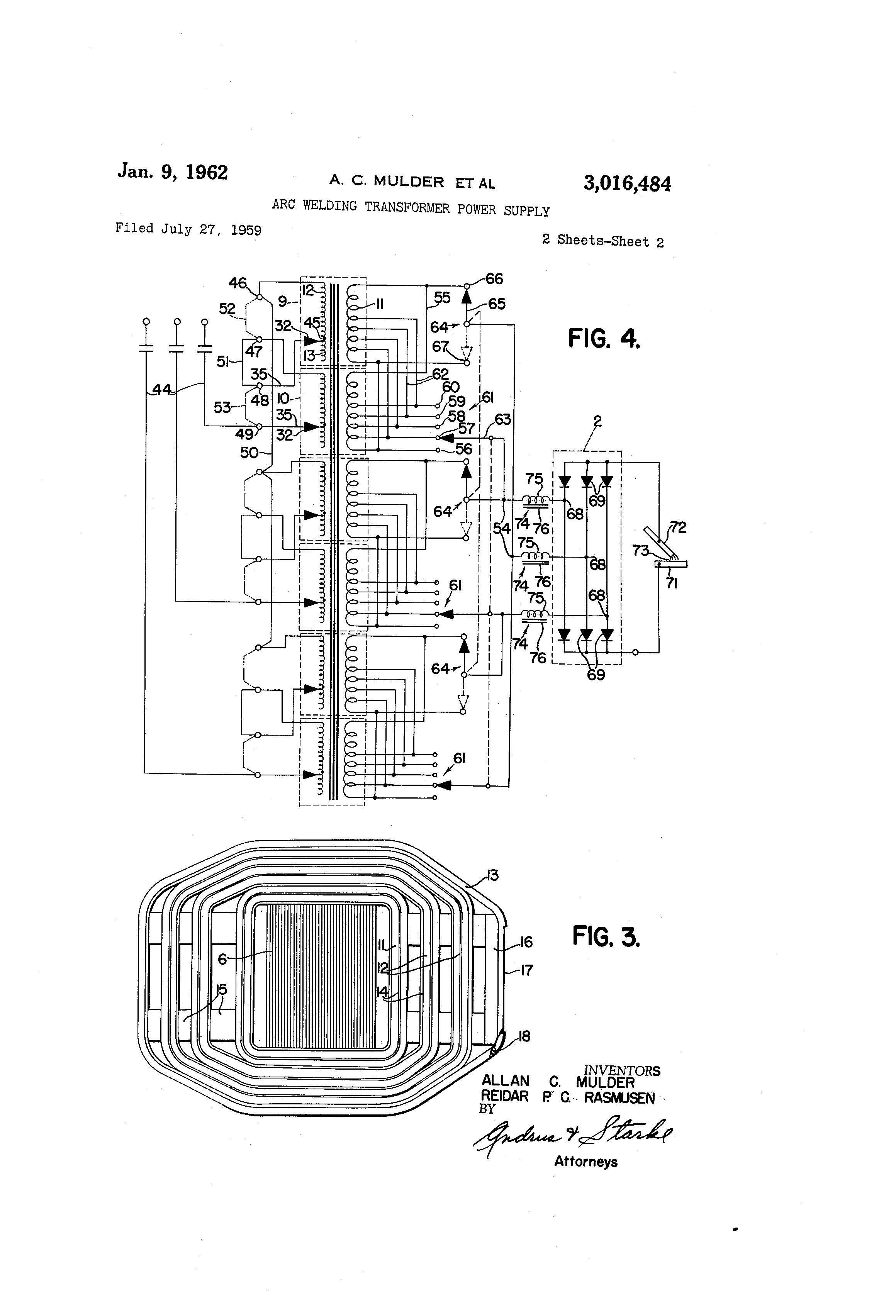 patent us3016484