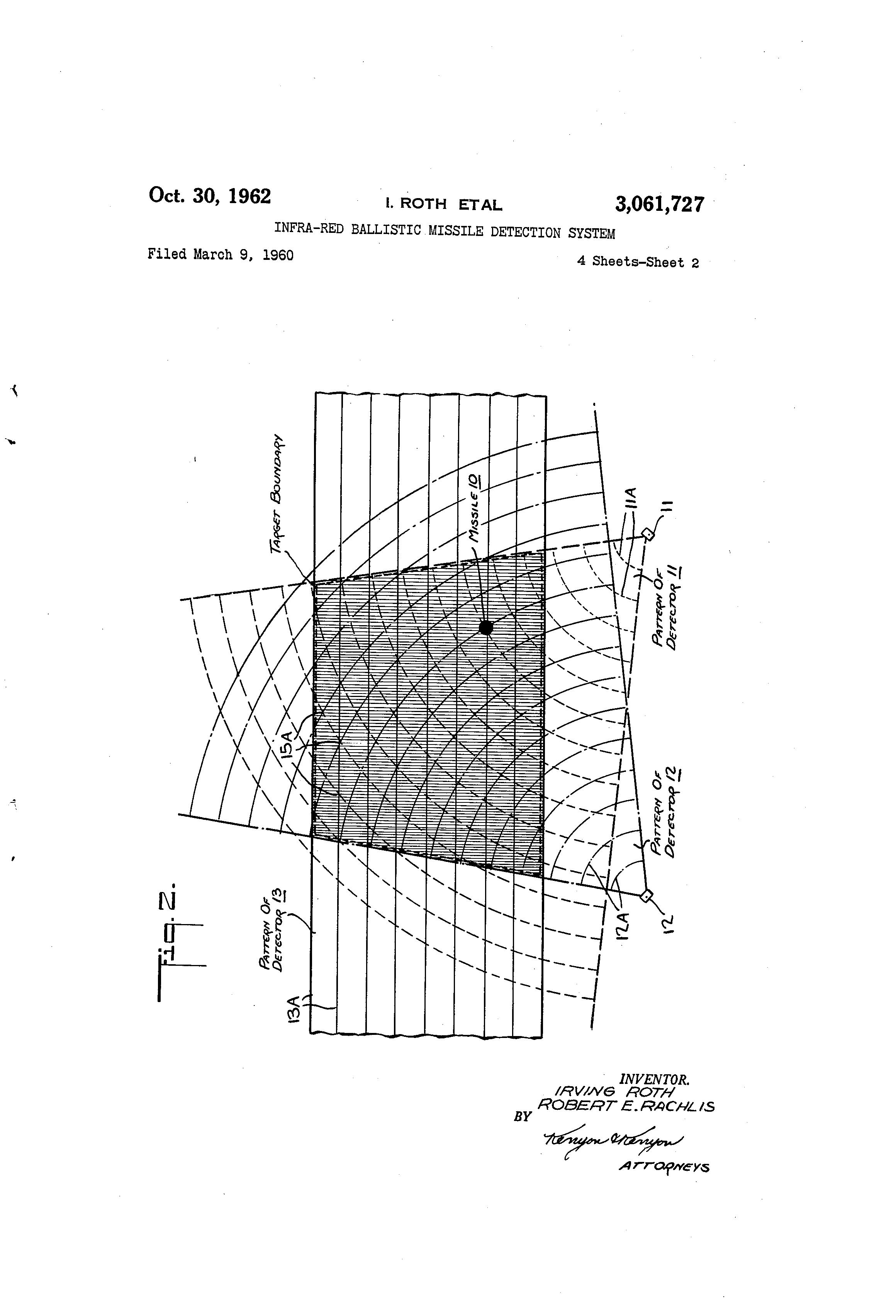 patent us3061727