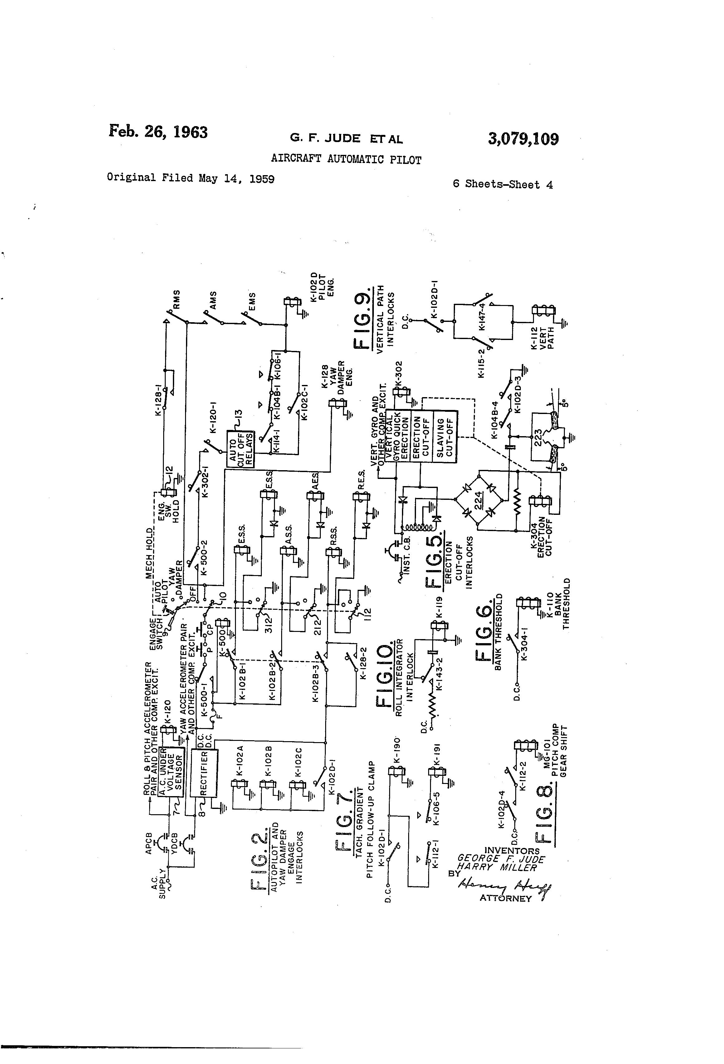 patent us3079109 aircraft automatic pilot google patentsPower Amplifier Circuit For Computer39s #14