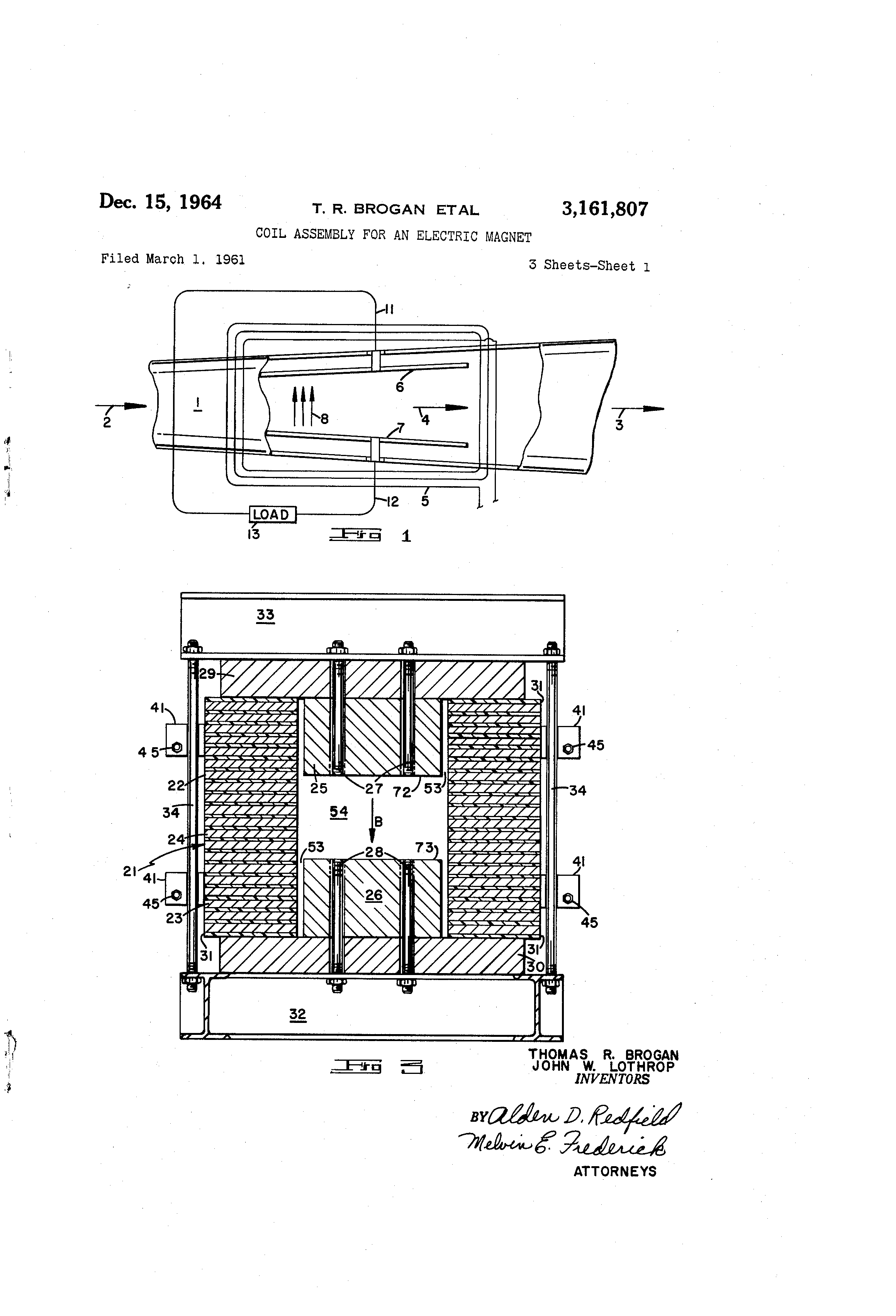 Electric design turns 22 - Patent Drawing