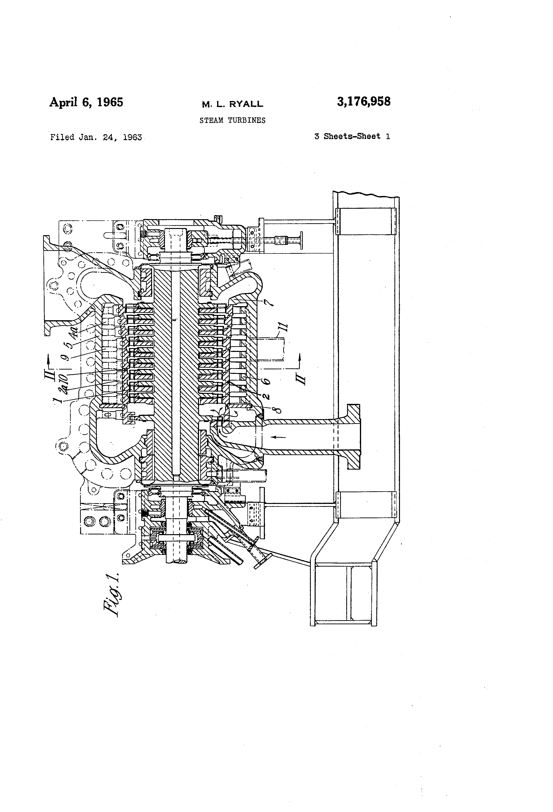 Patent US Steam turbines Google Patents