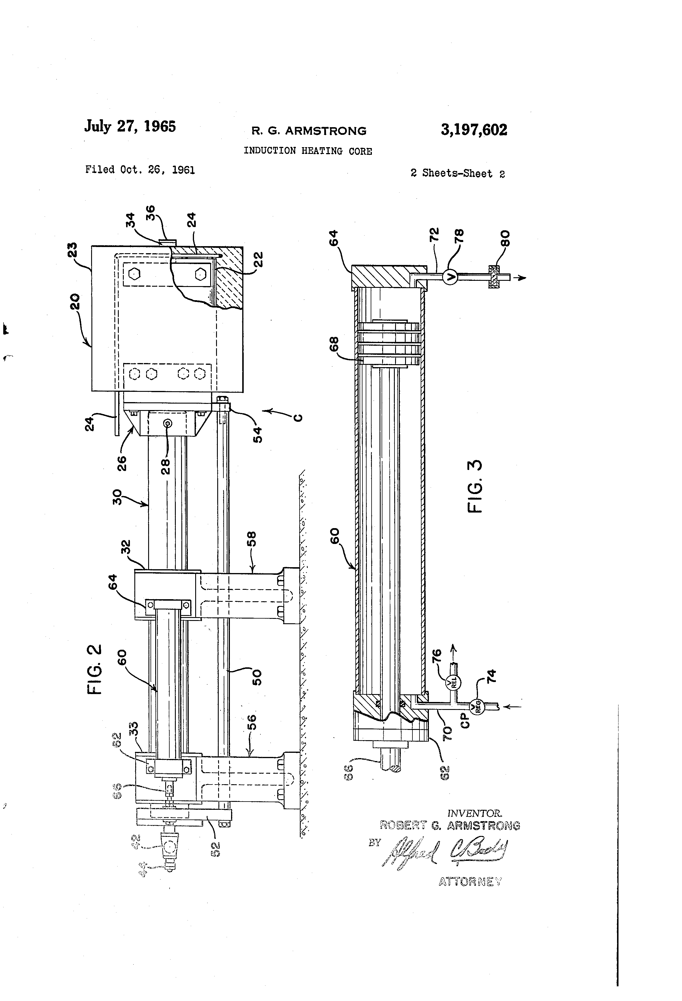 Patent Us3197602 Induction Heating Core Google Patents Diagram Drawing