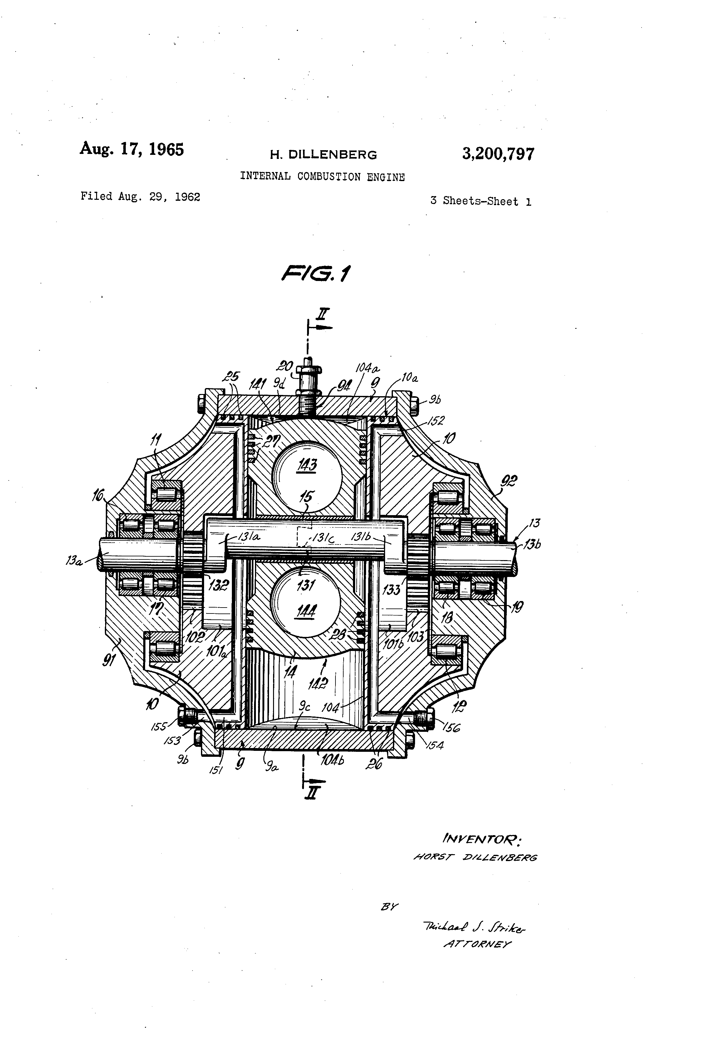 Patent Us3200797 Internal Combustion Engine Google Patentsuche Illustrated Diagram Of A Basic