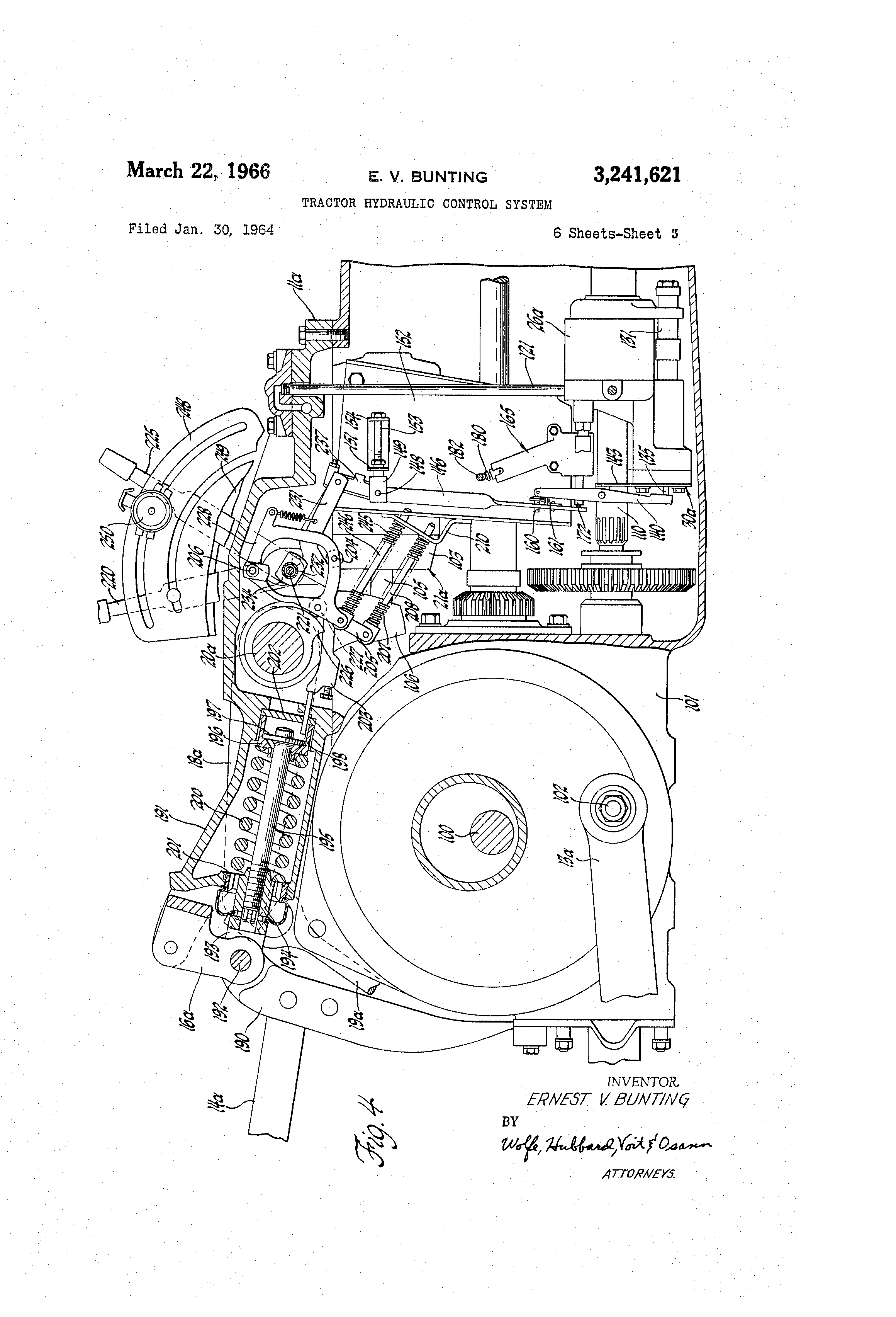 Hydraulic System Drawing : Patent us tractor hydraulic control system