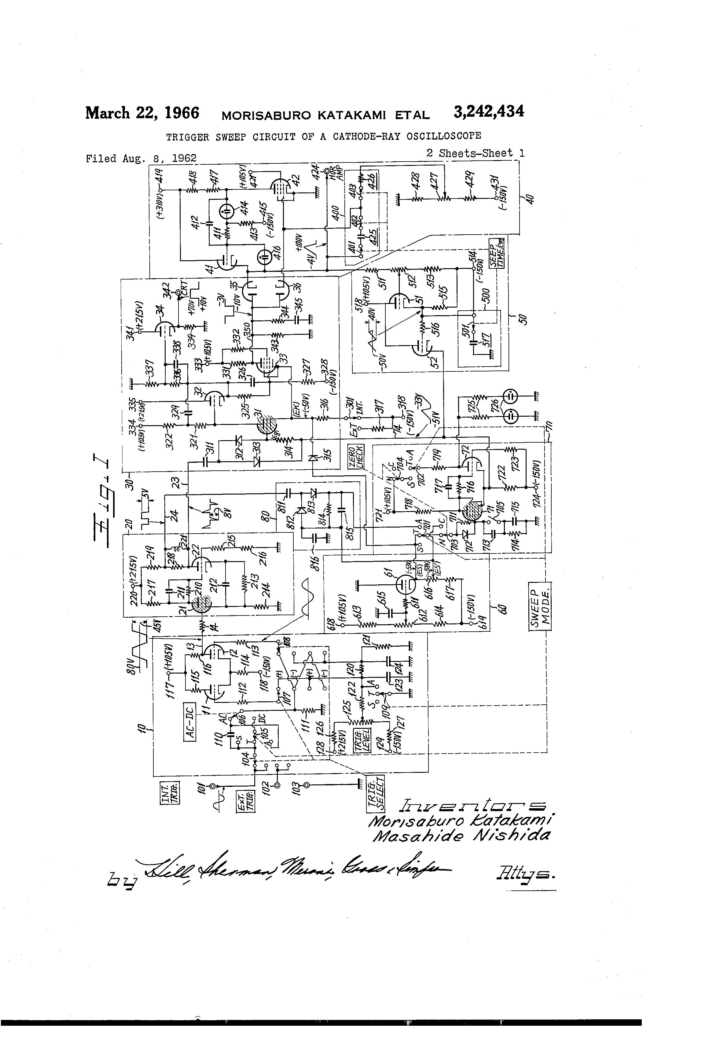 patent us3242434
