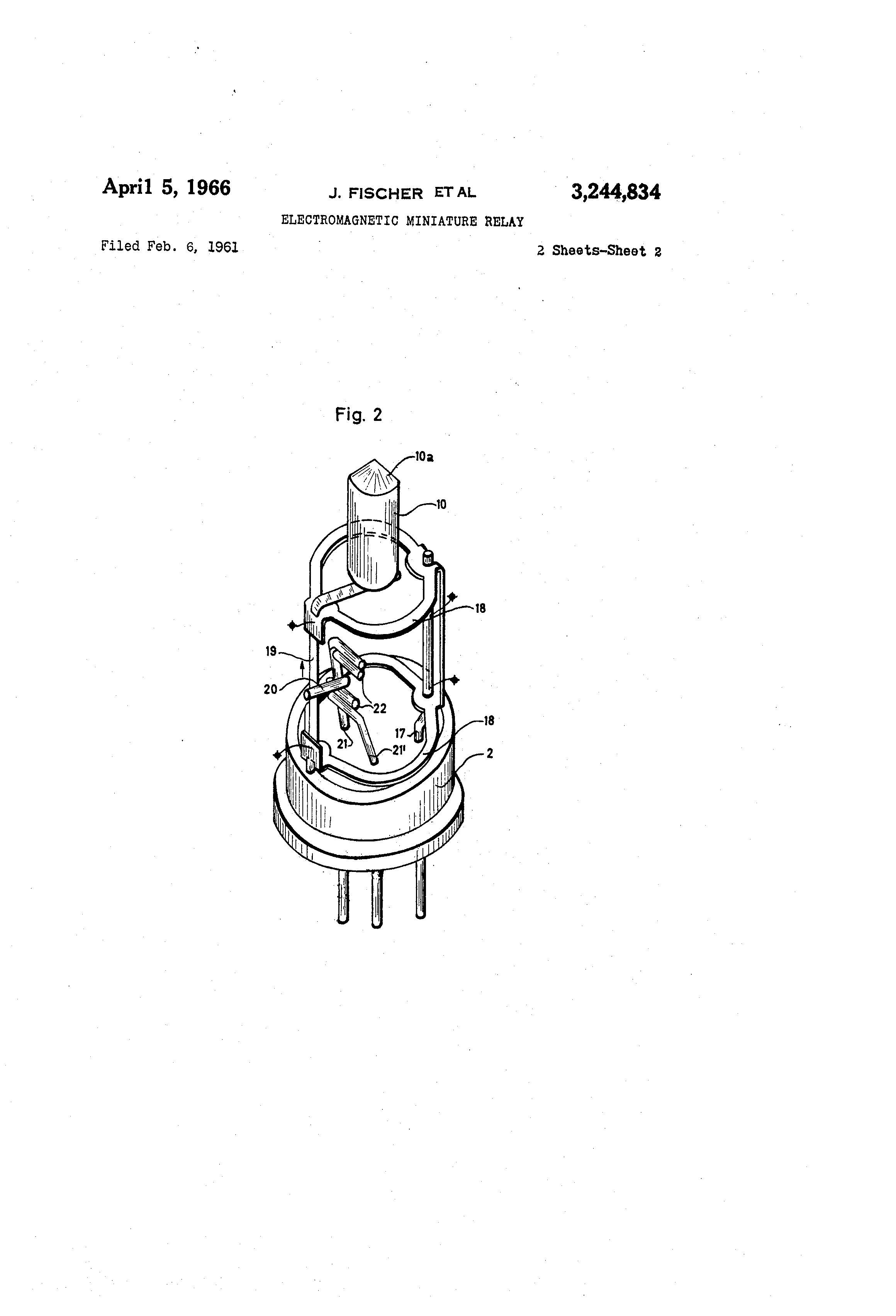 patent us3244834