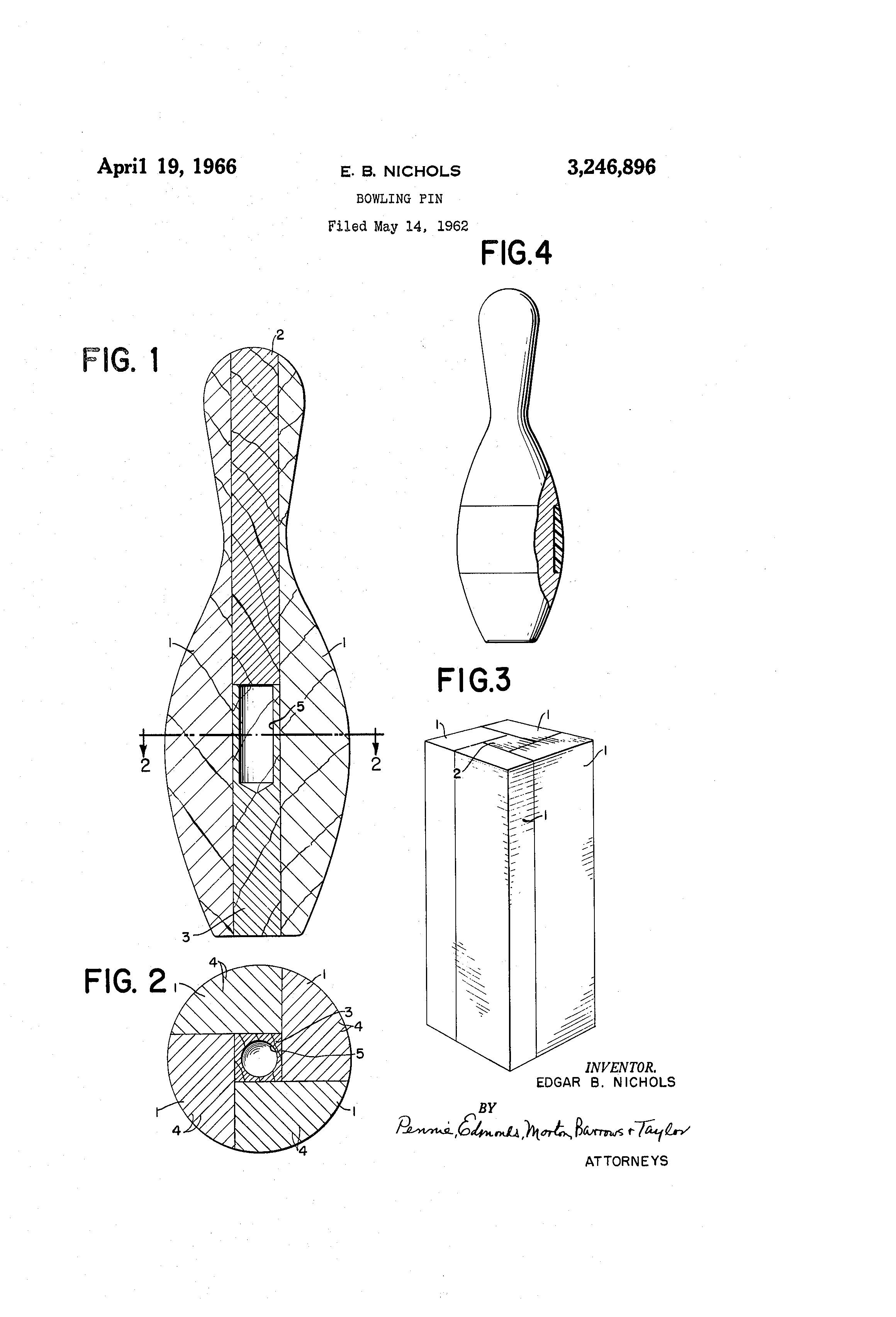 Bowling pin dimensions nichols bowling pin filed may