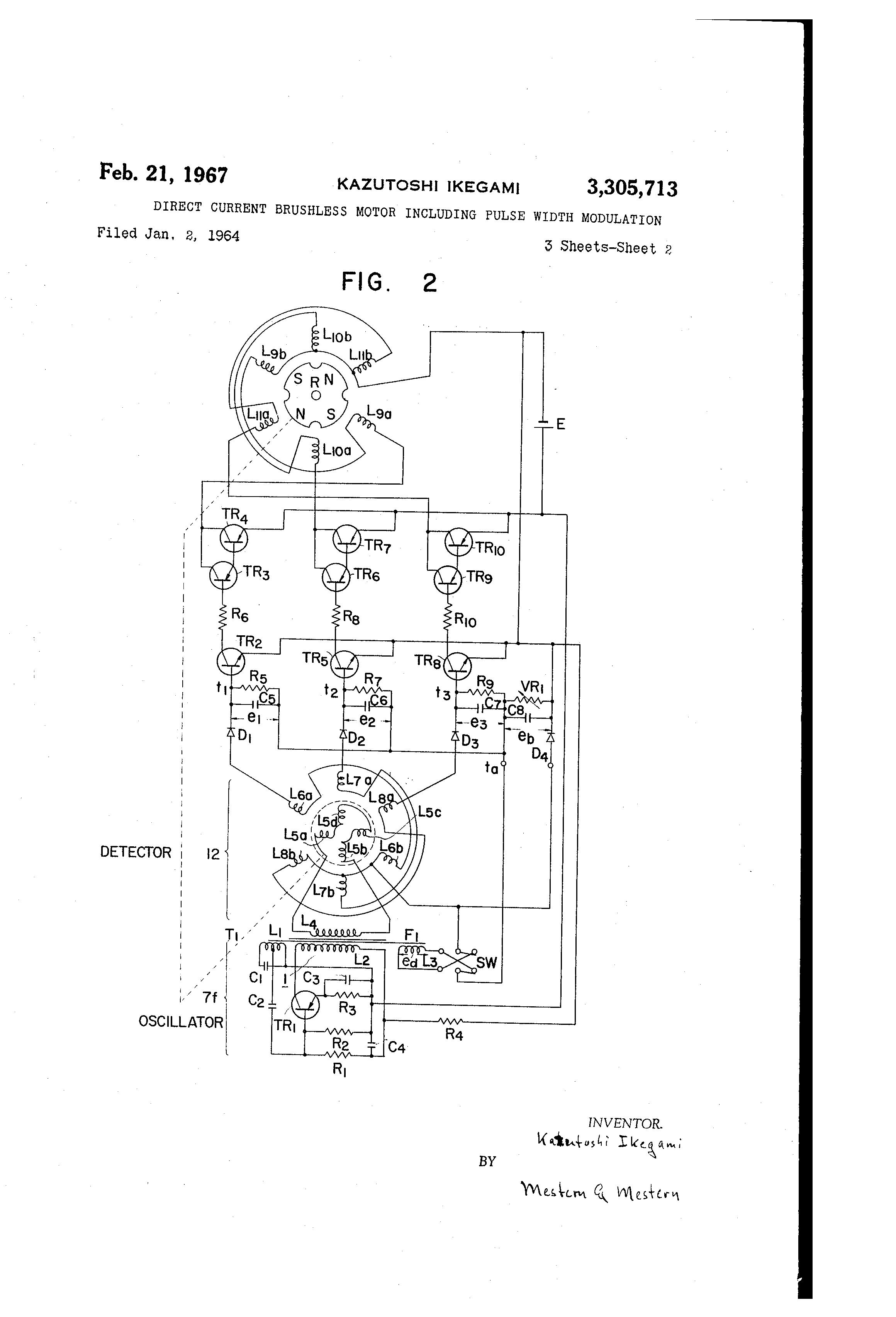 patent us3305713