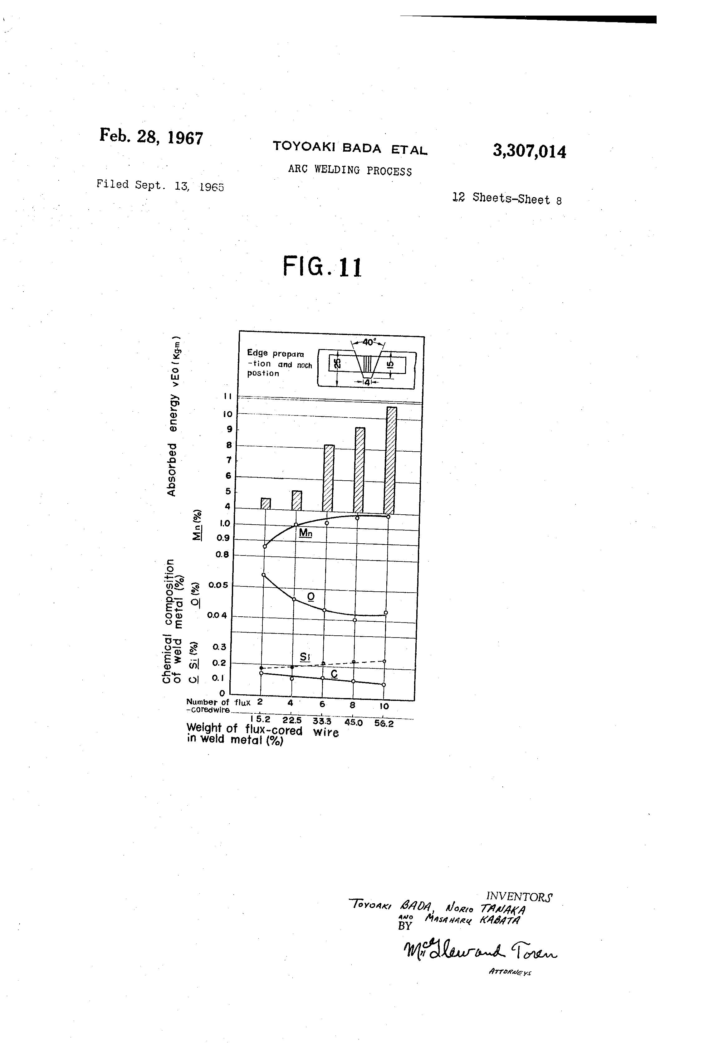 Brevet Us3307014 Arc Welding Process Google Brevets Diagram Of Patent Drawing