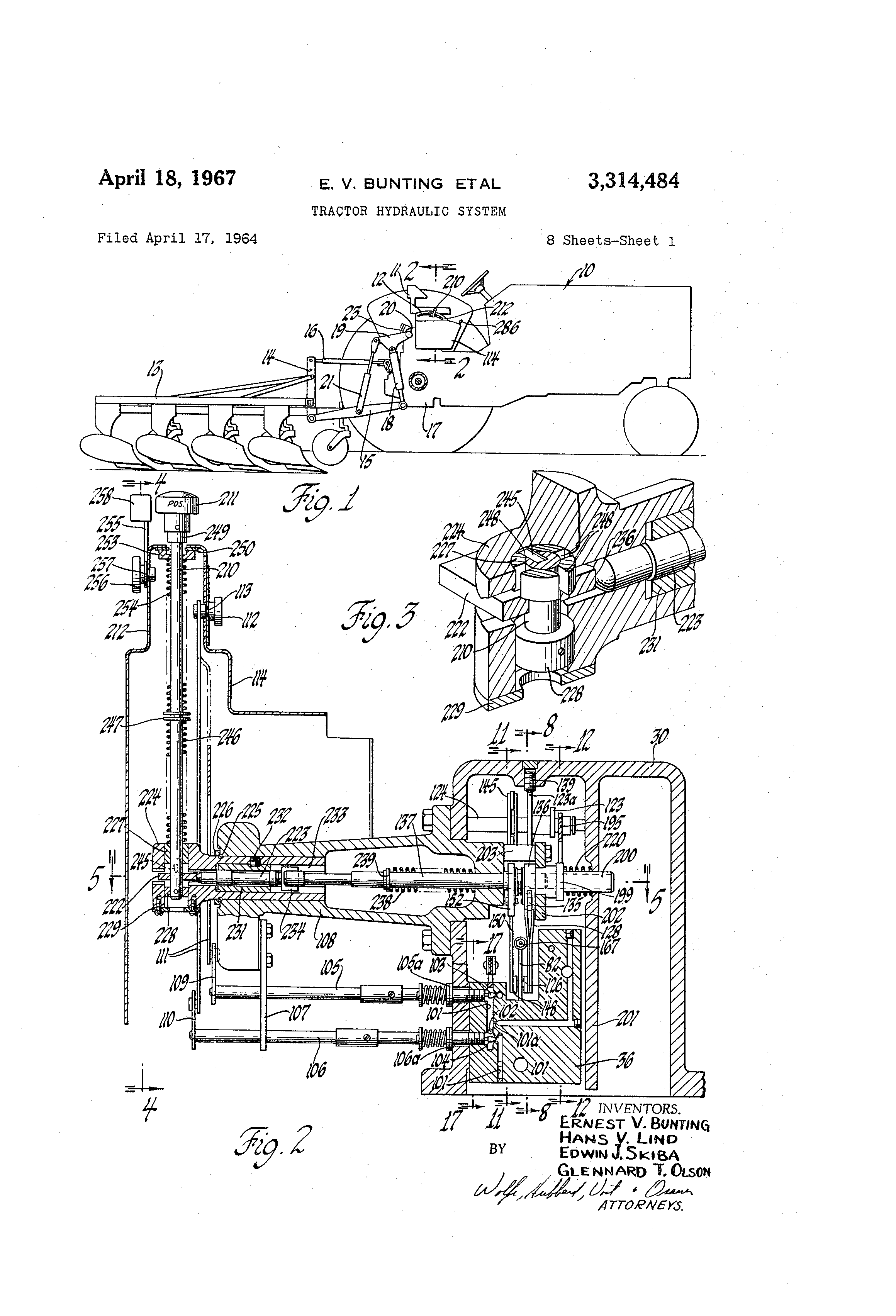 Hydraulic System Drawing : Patent us tractor hydraulic system patenty google