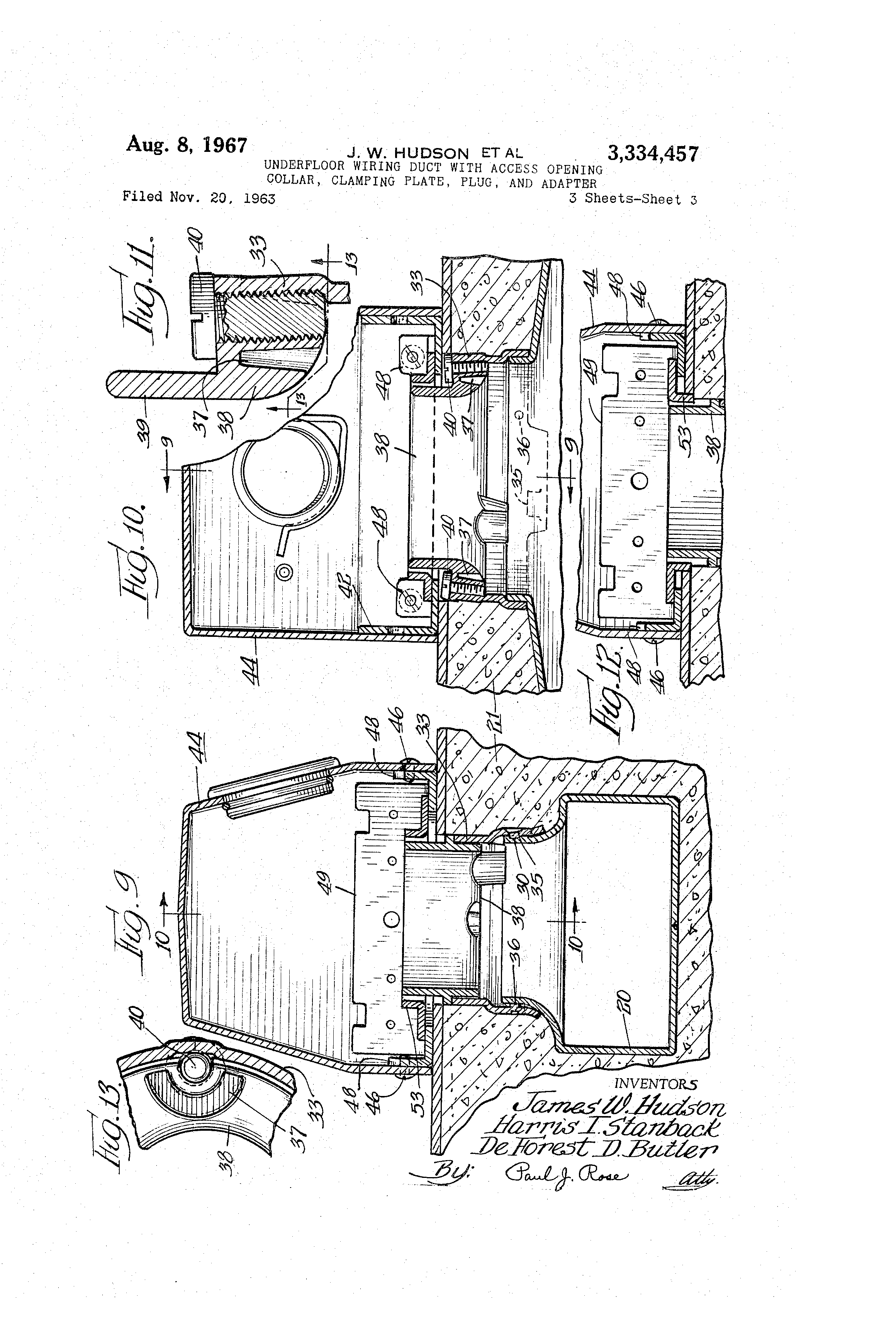 patent us3334457