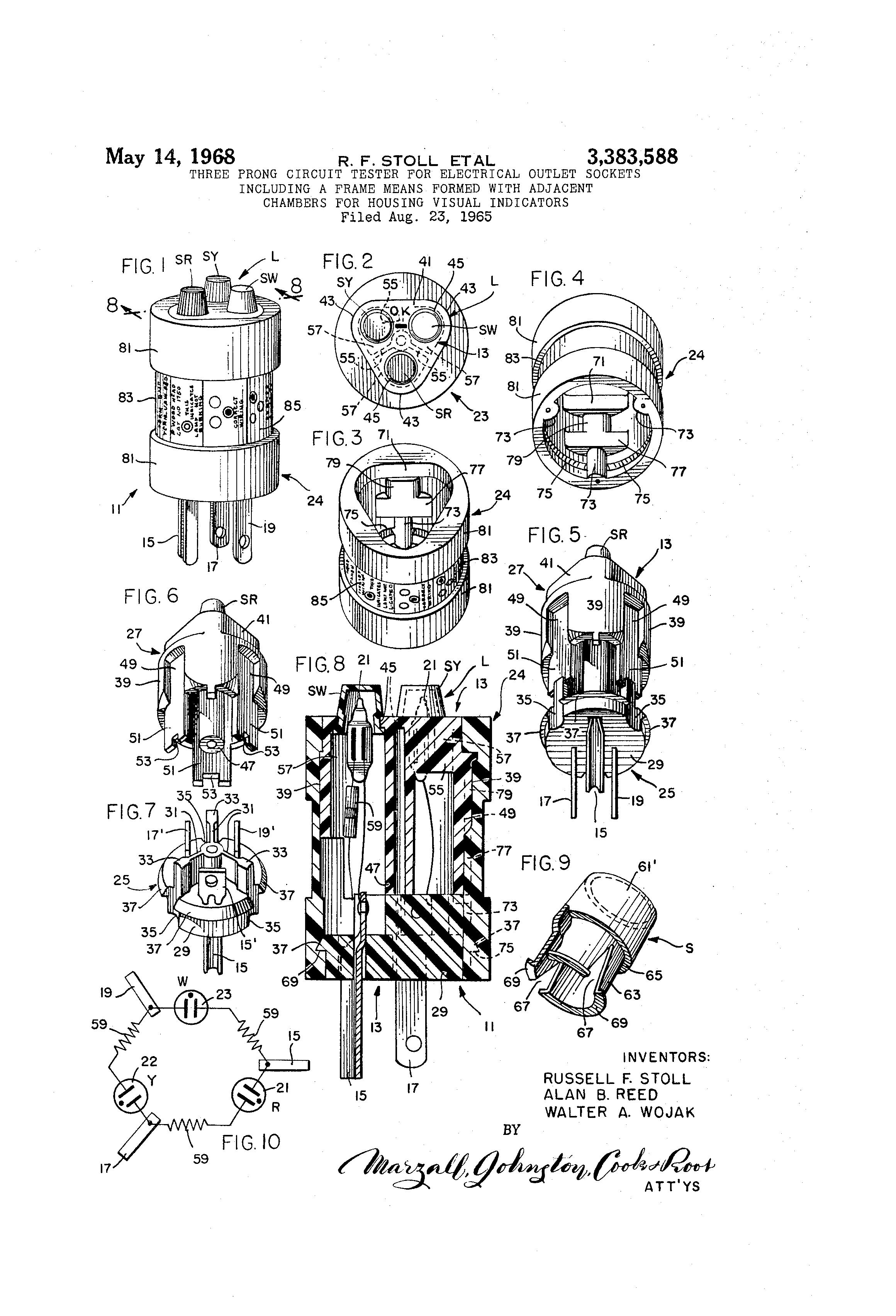 patent us3383588
