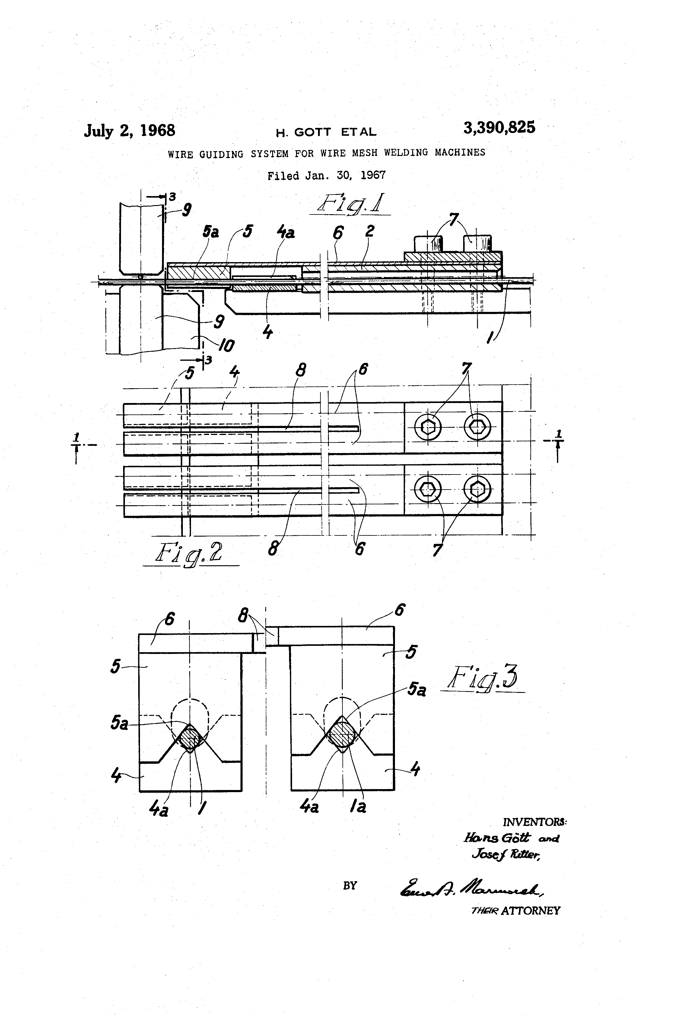 Patent Us3390825 Wire Guiding System For Mesh Welding Machine Wiring Diagram Drawing