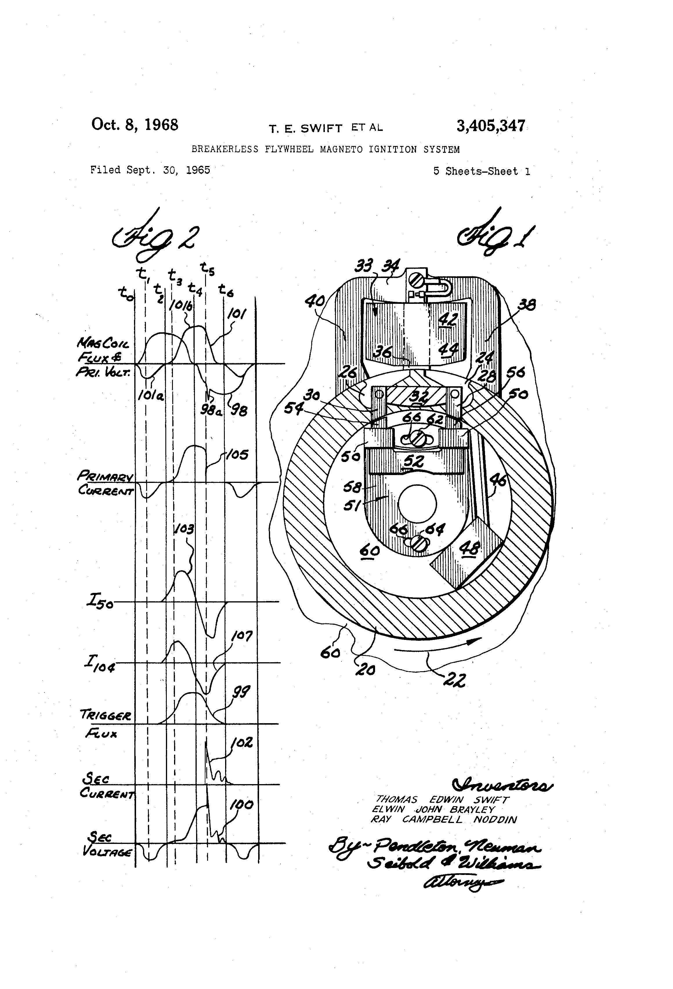 Patent Us3405347