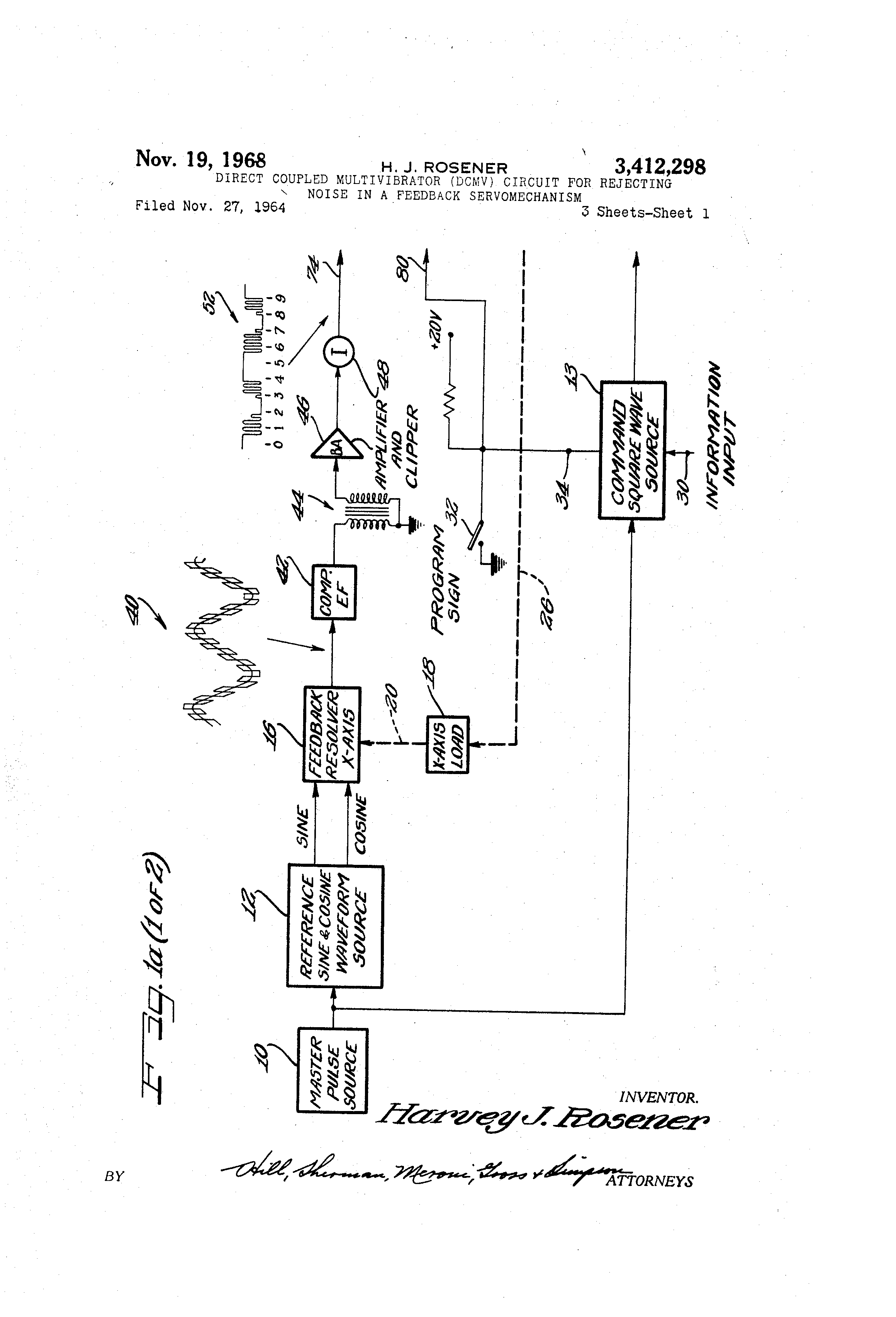 Patent Us3412298 Direct Coupled Multivibrator Dcmv Circuit For Monostable Means That Once The Is Switched On It Will Time Drawing
