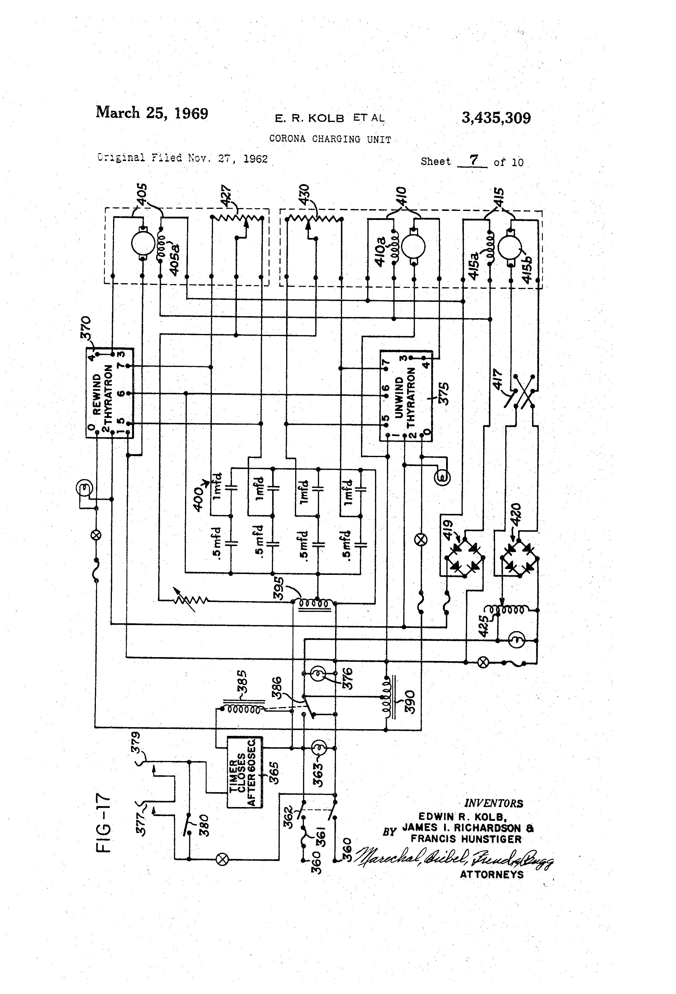 patent us3435309 corona charging unit patents