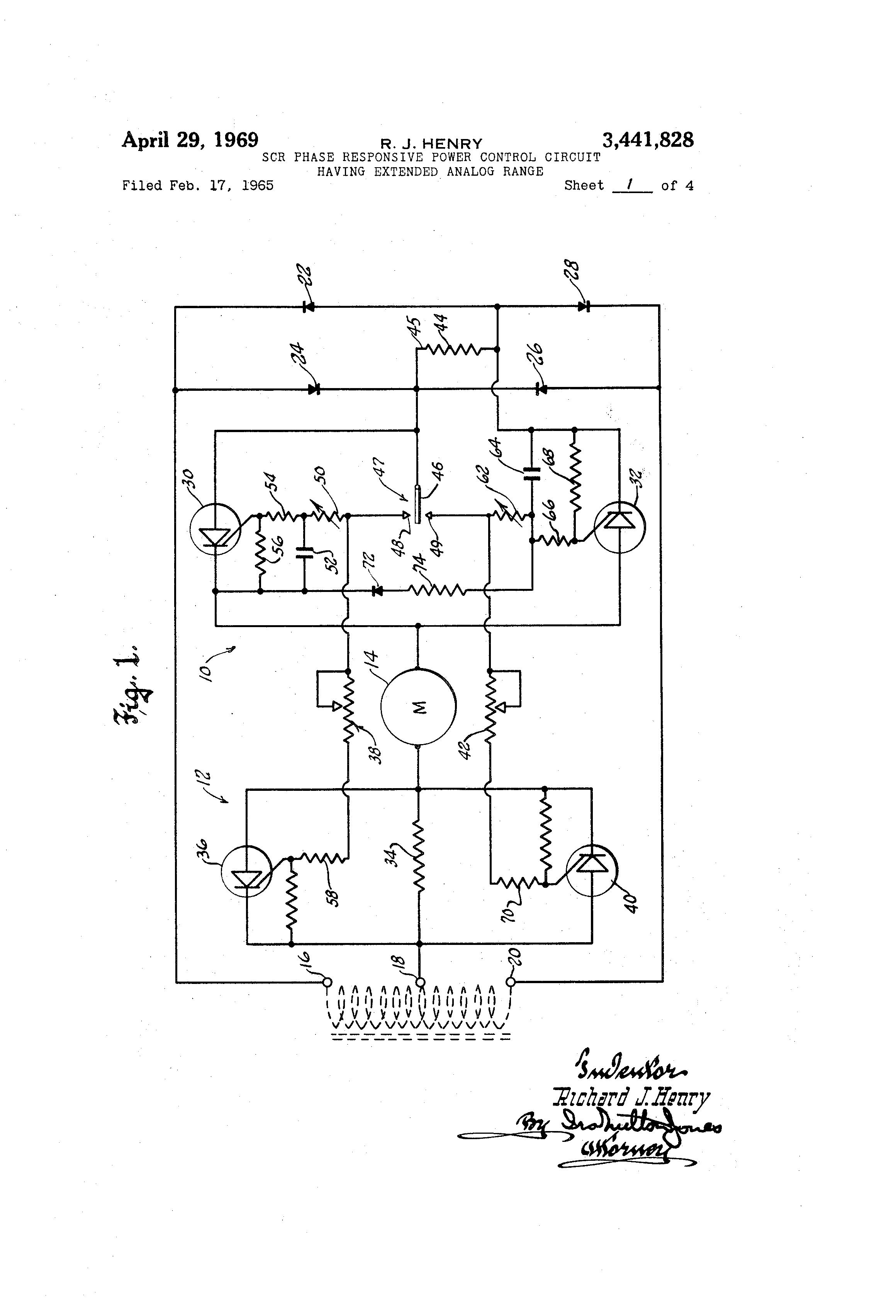 patent us3441828