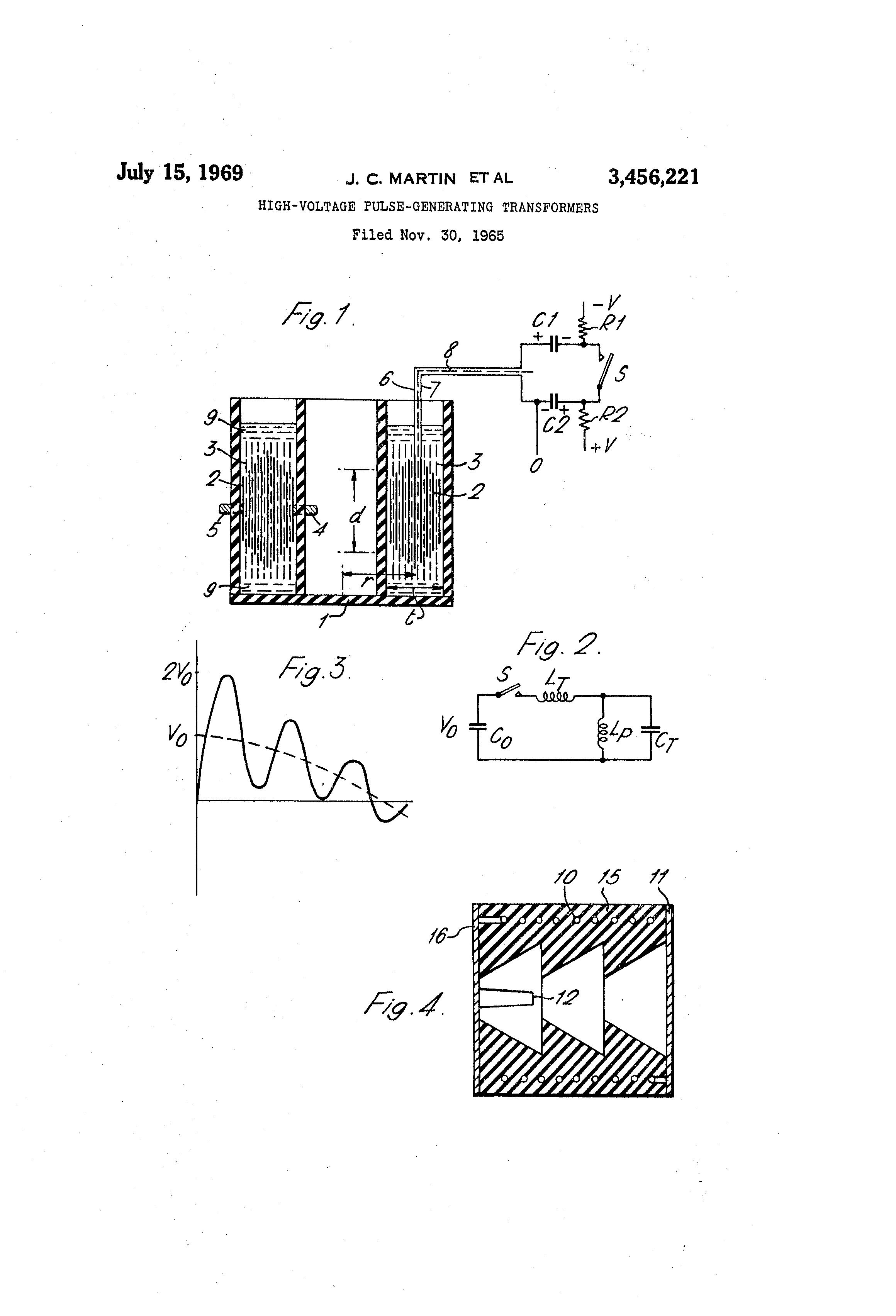 patent us3456221 high voltage pulse generating transformers rh google com