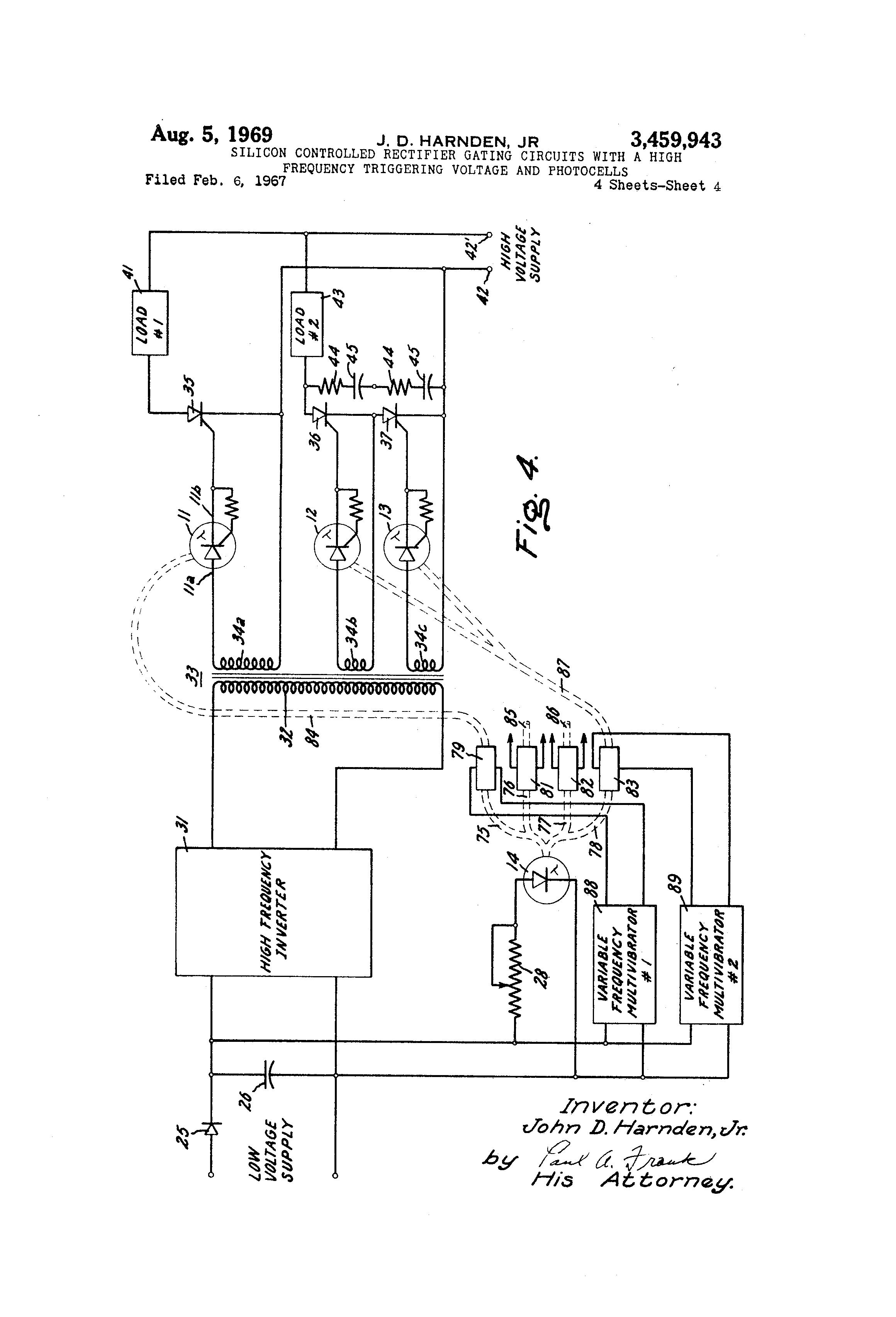 patent us3459943
