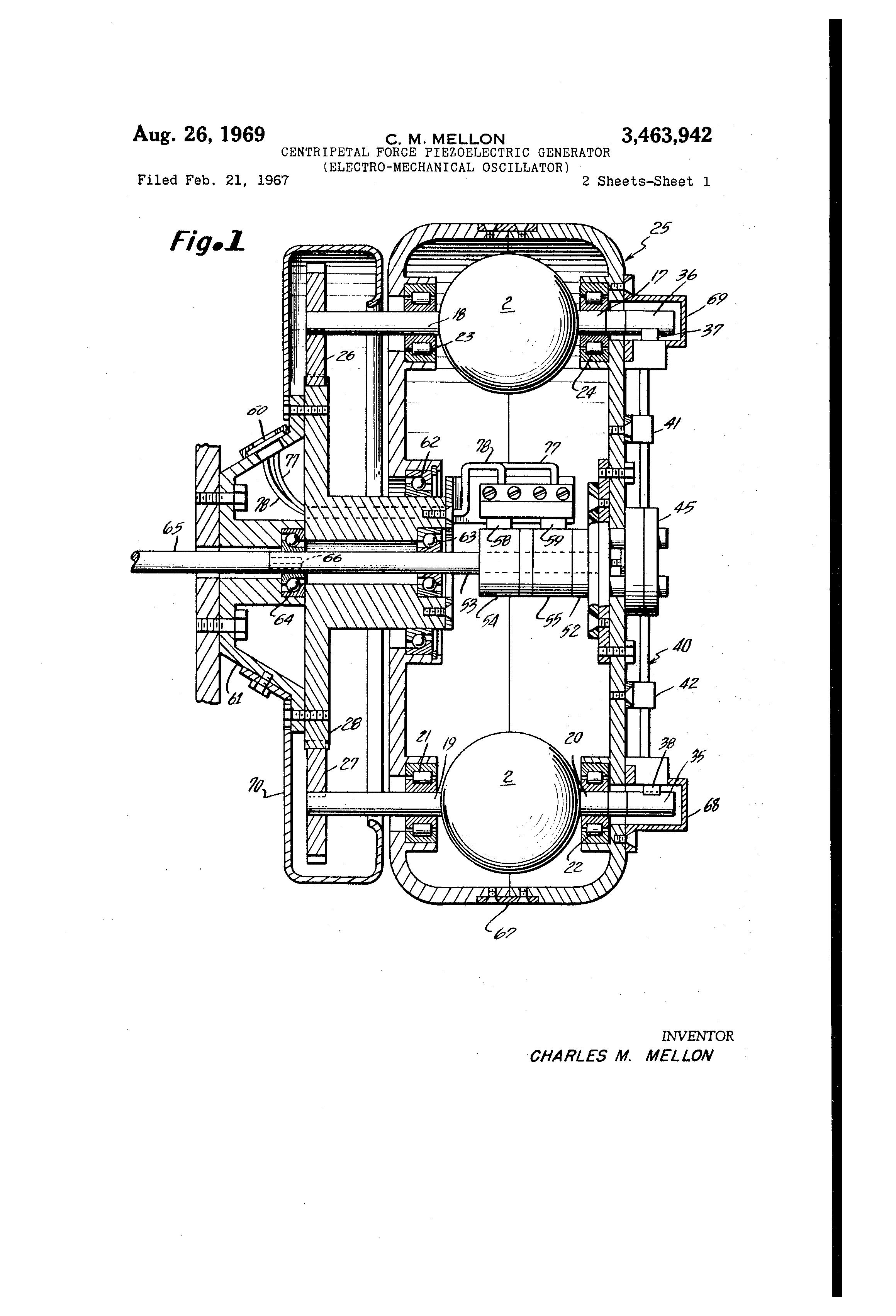 patent us3463942
