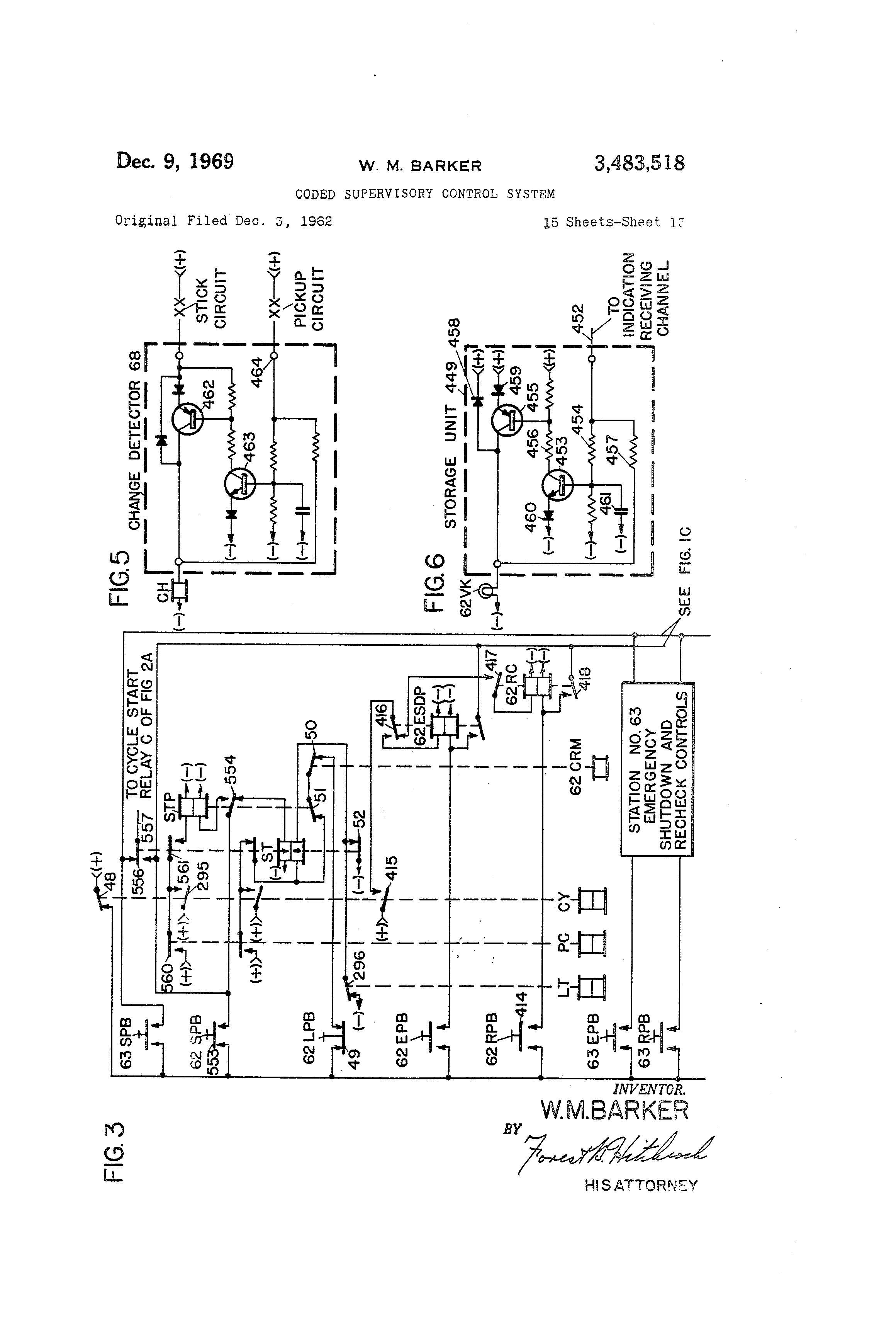 Patent Us3483518 Coded Supervisory Control System Google Patents Relay Schematic Symbol Pcrelay For The Drawing