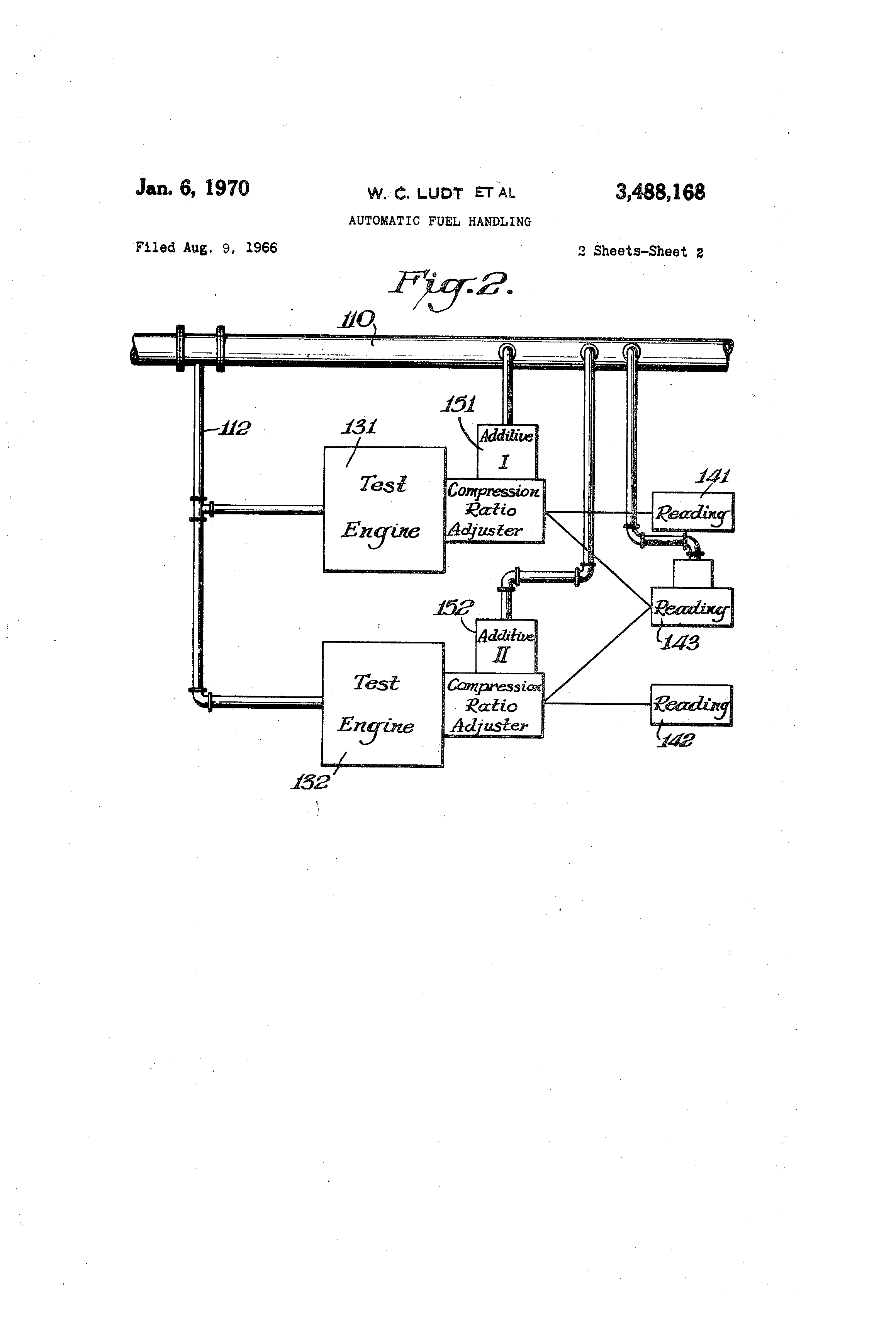 Patent Us3488168 Automatic Fuel Handling Google Patents Variable Resistor Circuit Diagram Moreover Voltmeter Ammeter Schematic Drawing