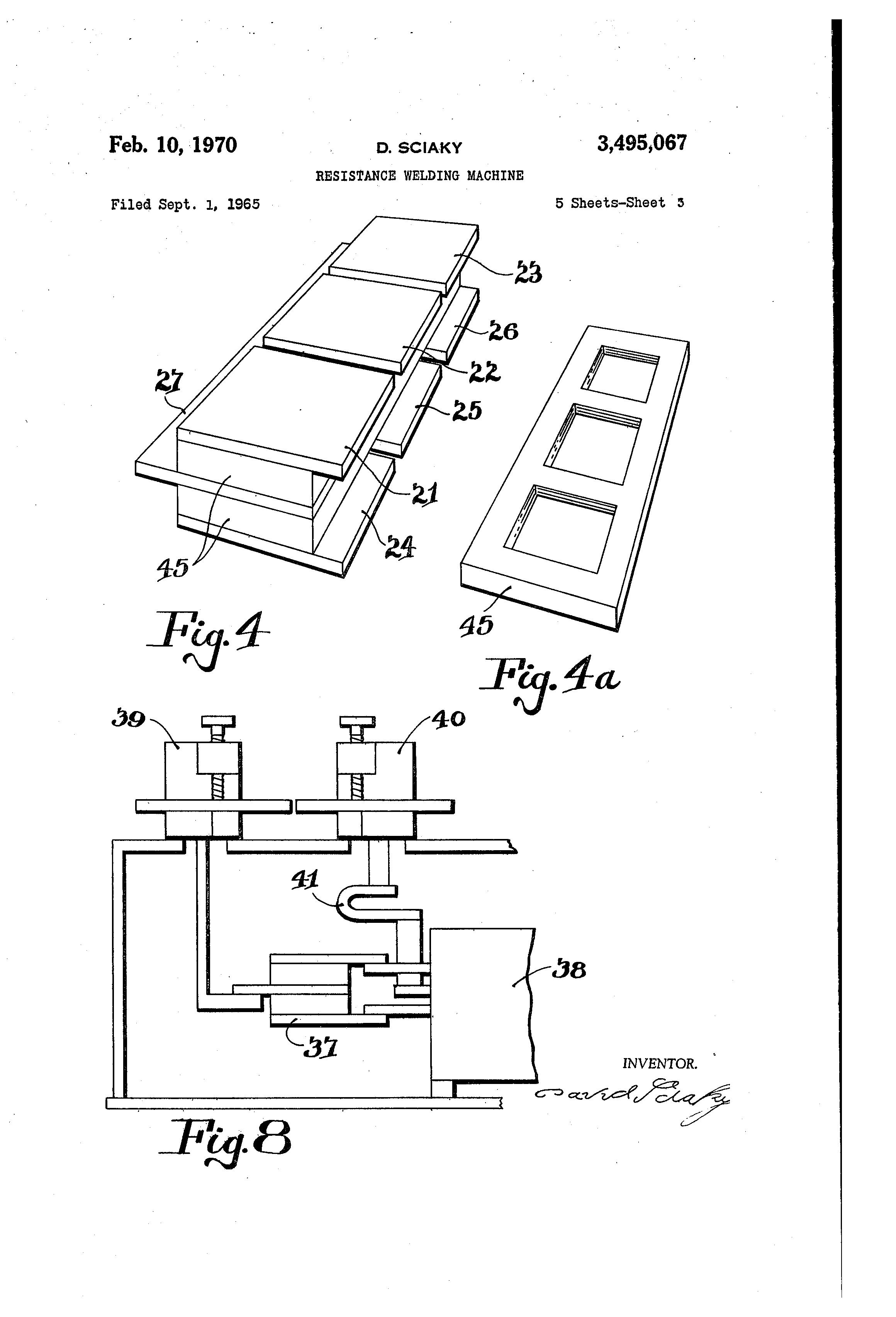 Patent Us3495067 Resistance Welding Machine Google Patents Winding Diagram Drawing