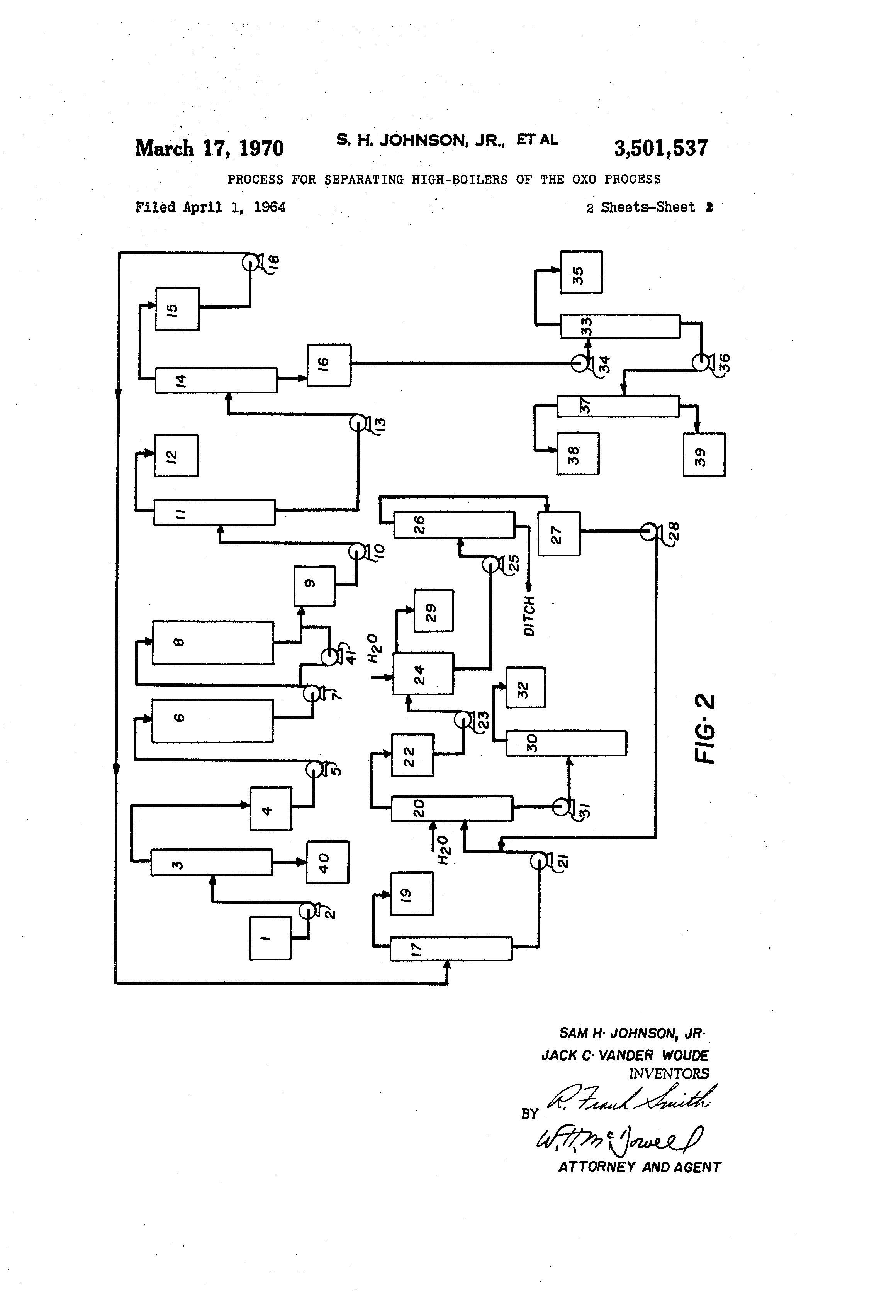 Patent Us3501537