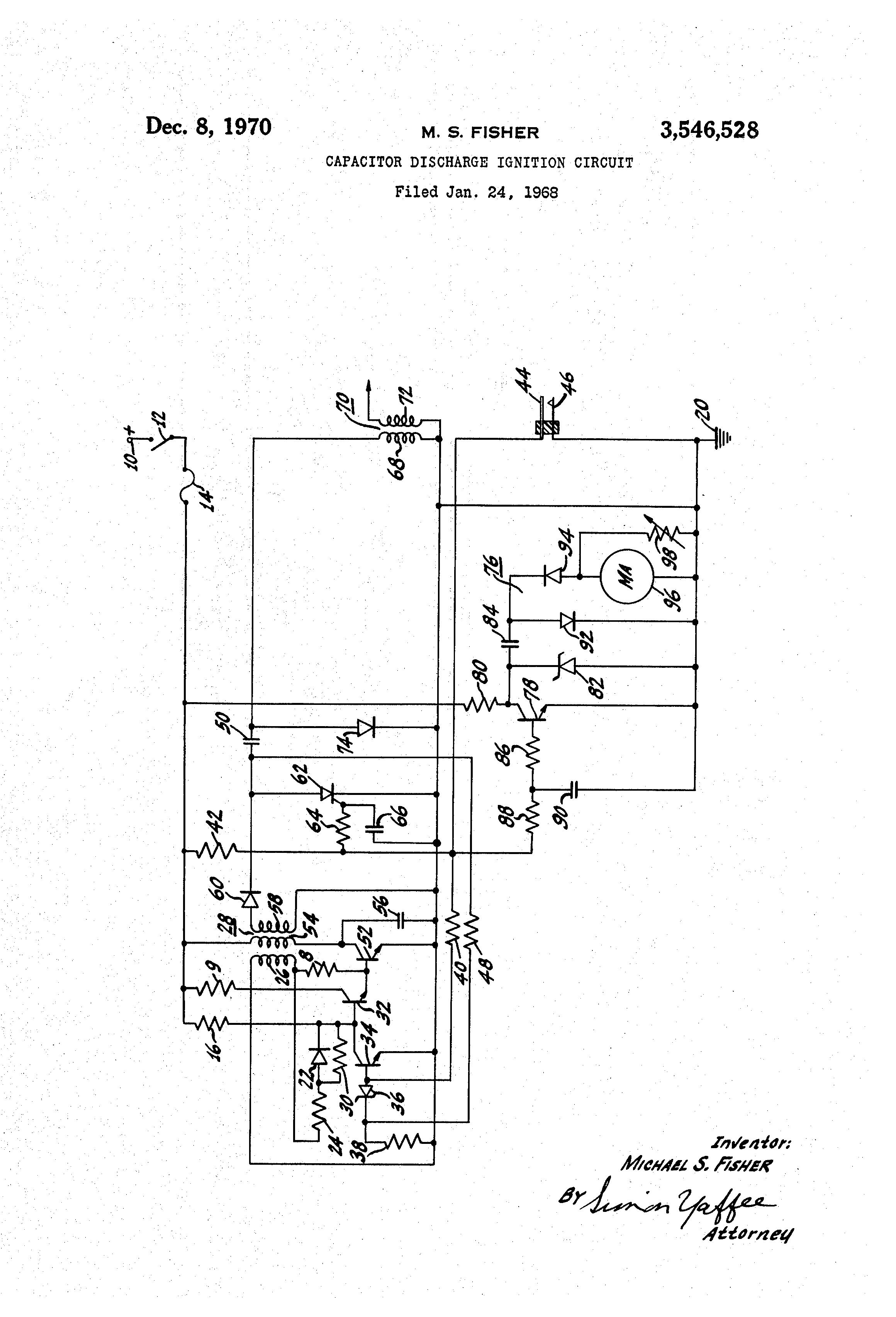 patent us3546528