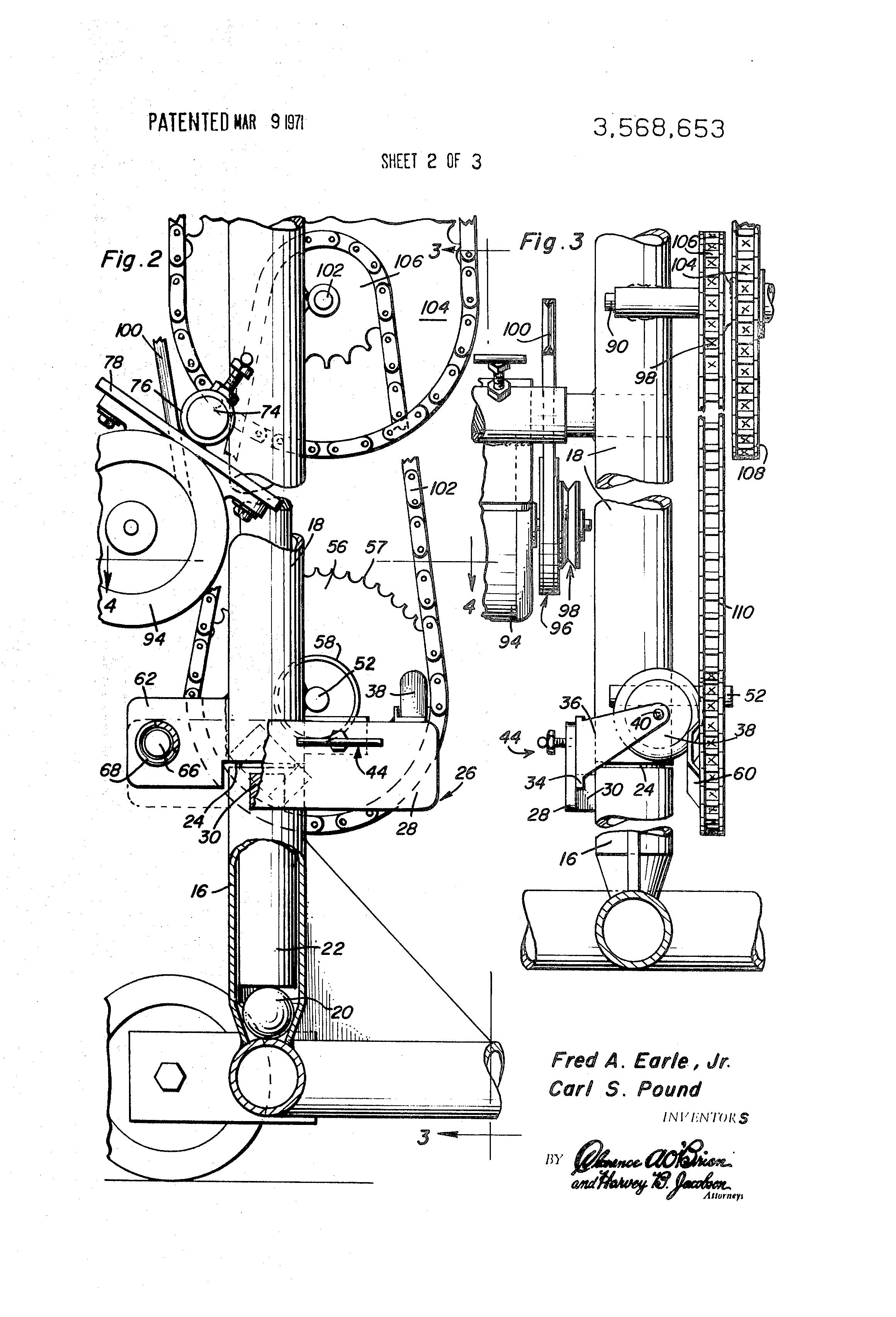 Patent Us3568653 Oscillating Mechanism For Tennis Ball