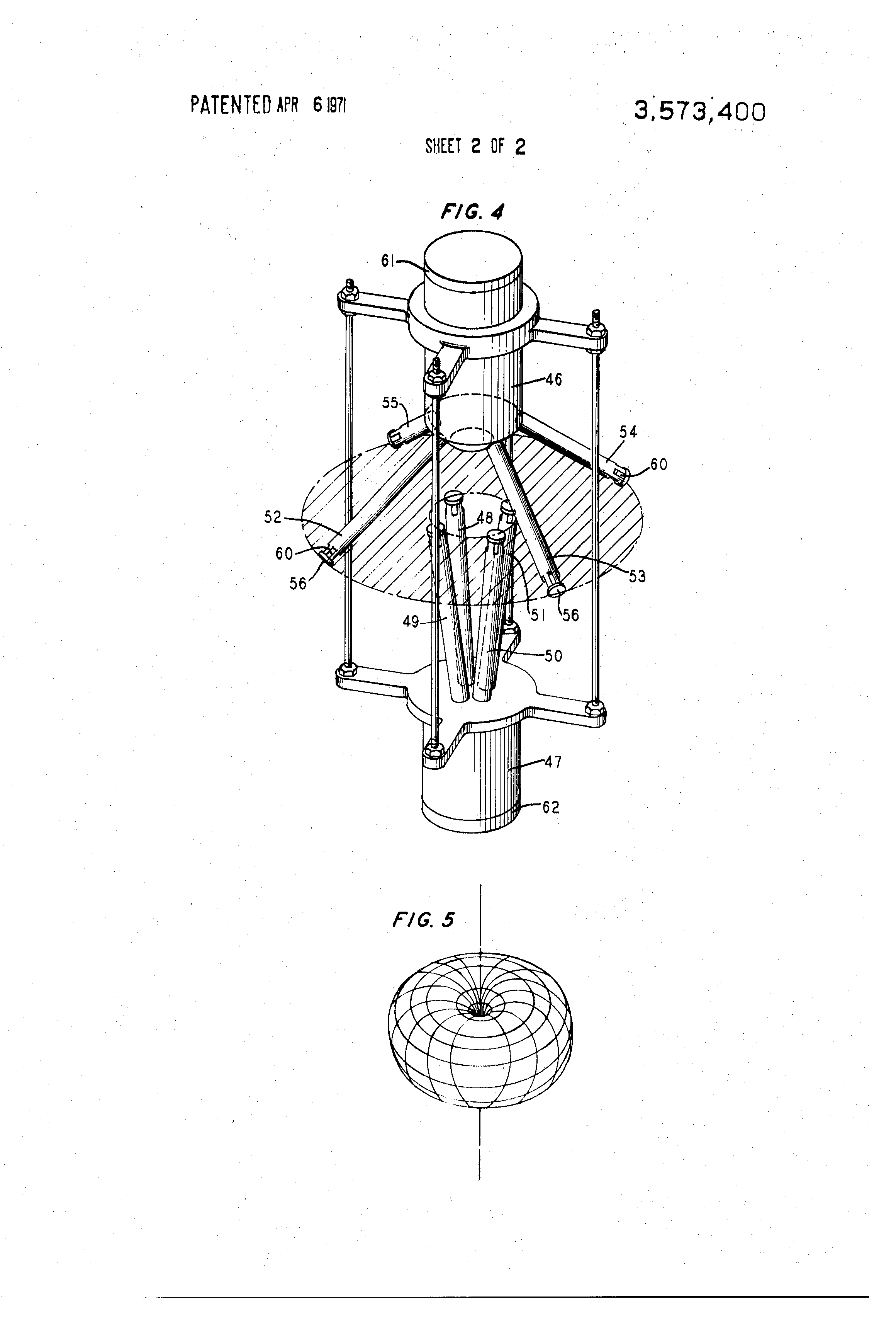 patent us3573400 - directional microphone