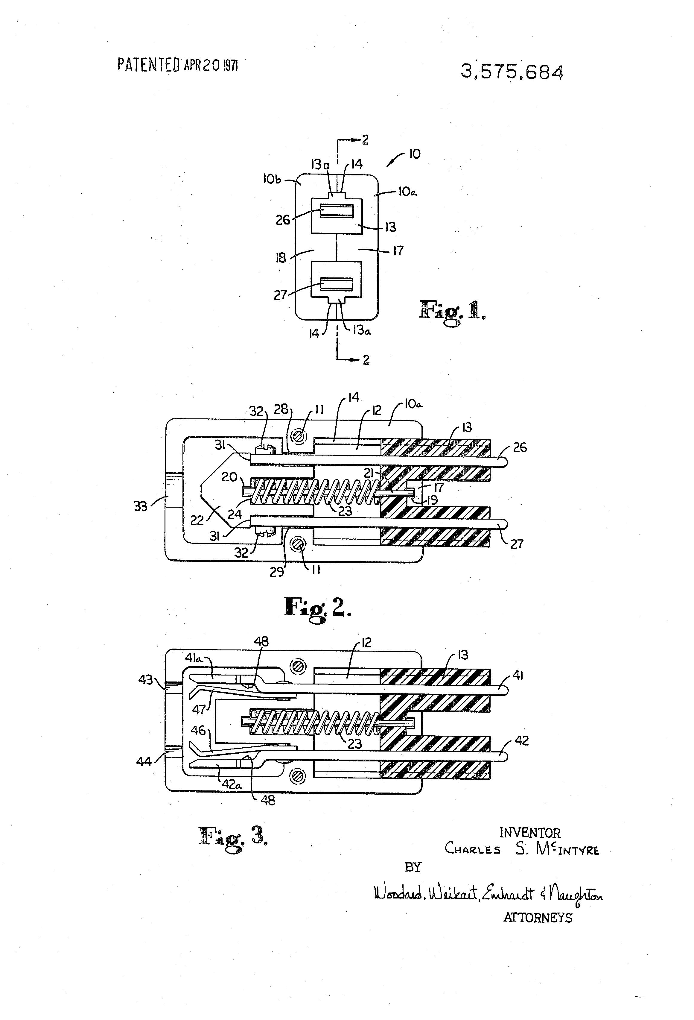 brevetto us3575684