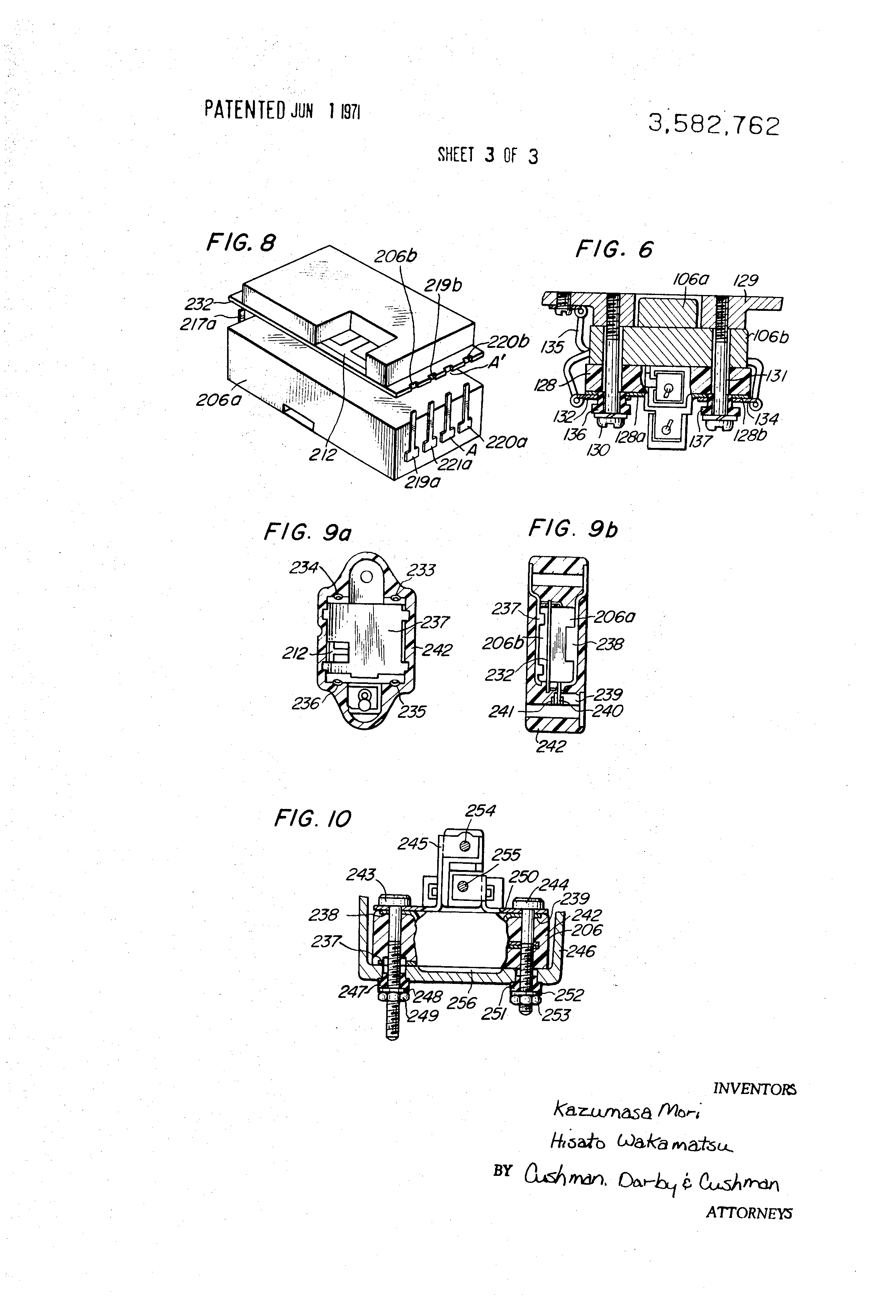 Patent Us3582762 Integrated Circuit Semiconductor Type Voltage Regulator Zener Diode Electrical Engineering Stack Drawing