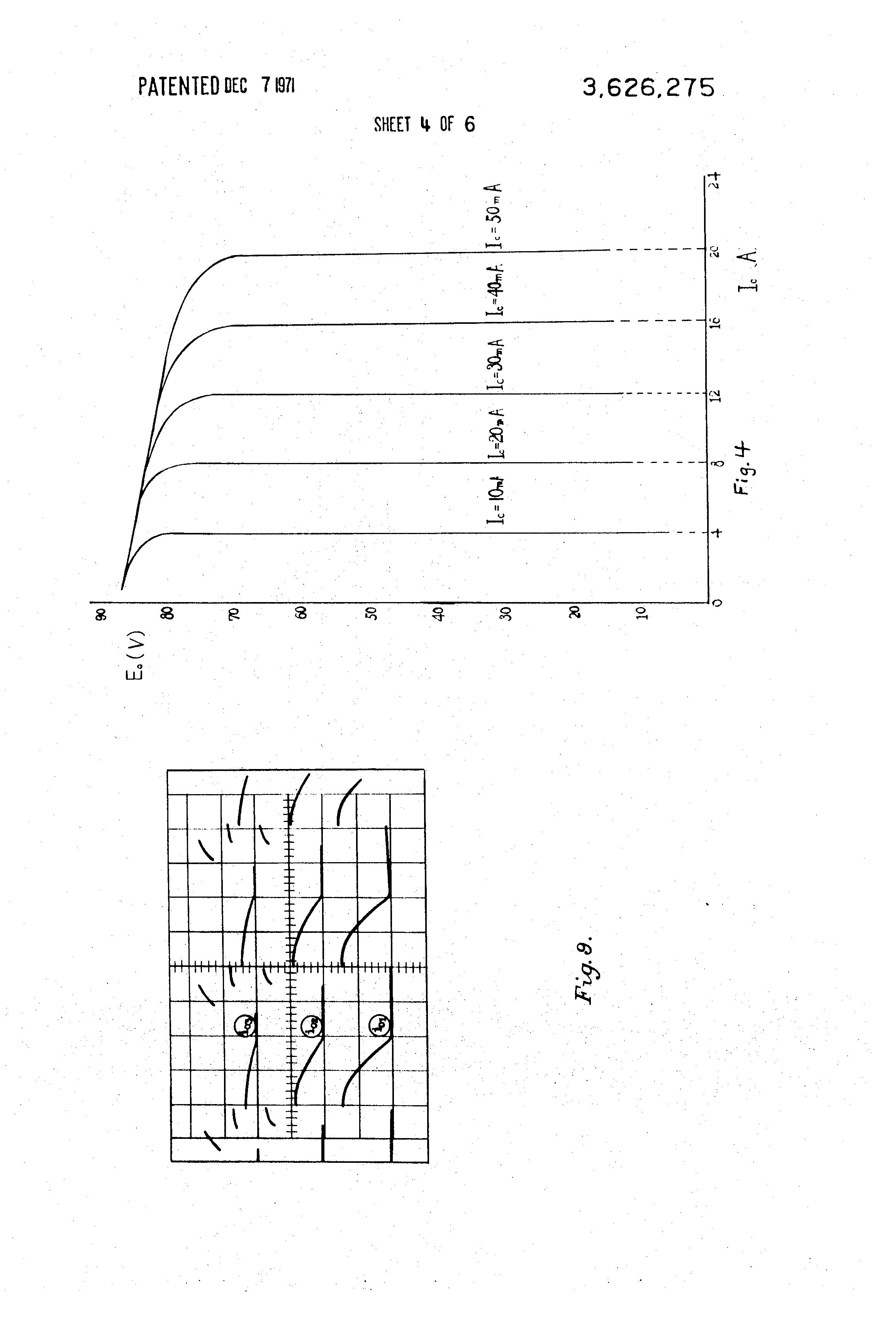 Patent Us3626275 Magnetic Firing Circuit For Thyristors Google Scr Triggering Drawing