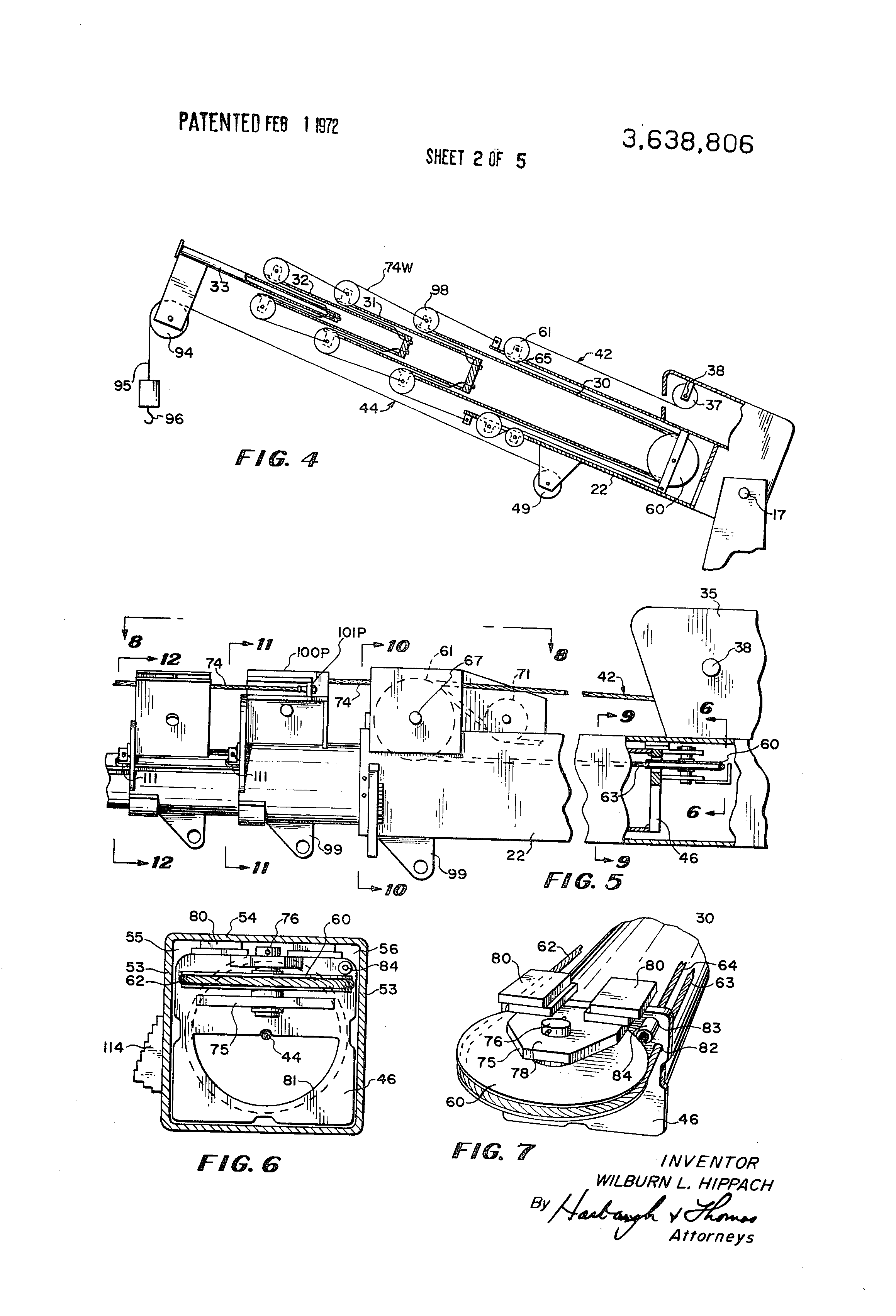 patent us3638806