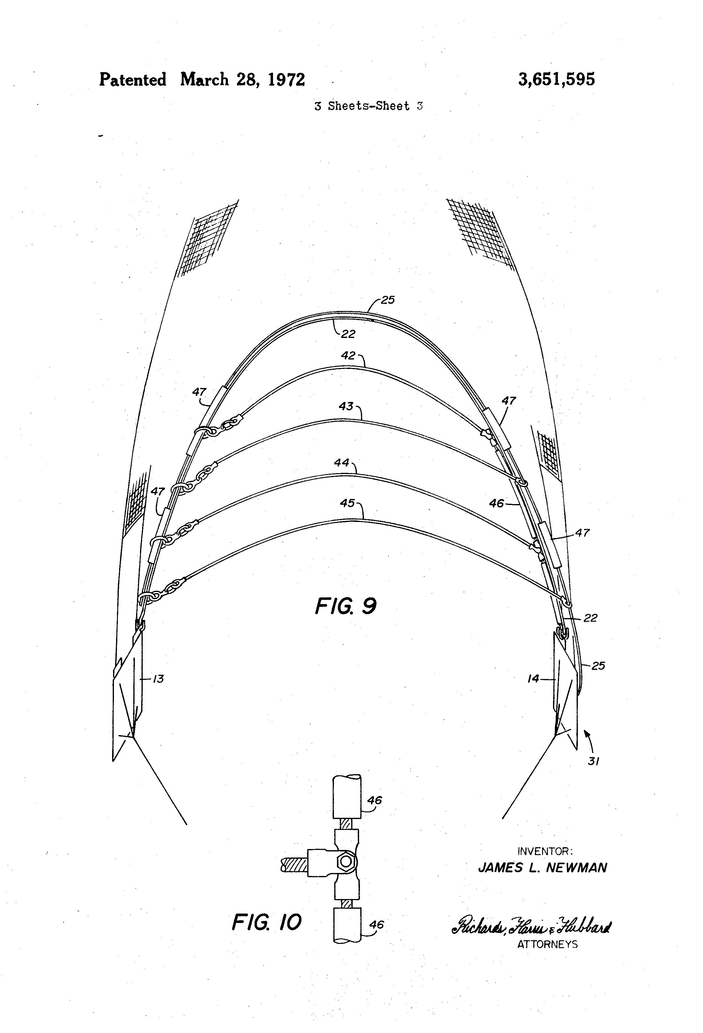 patent us3651595 - electric shrimp trawl