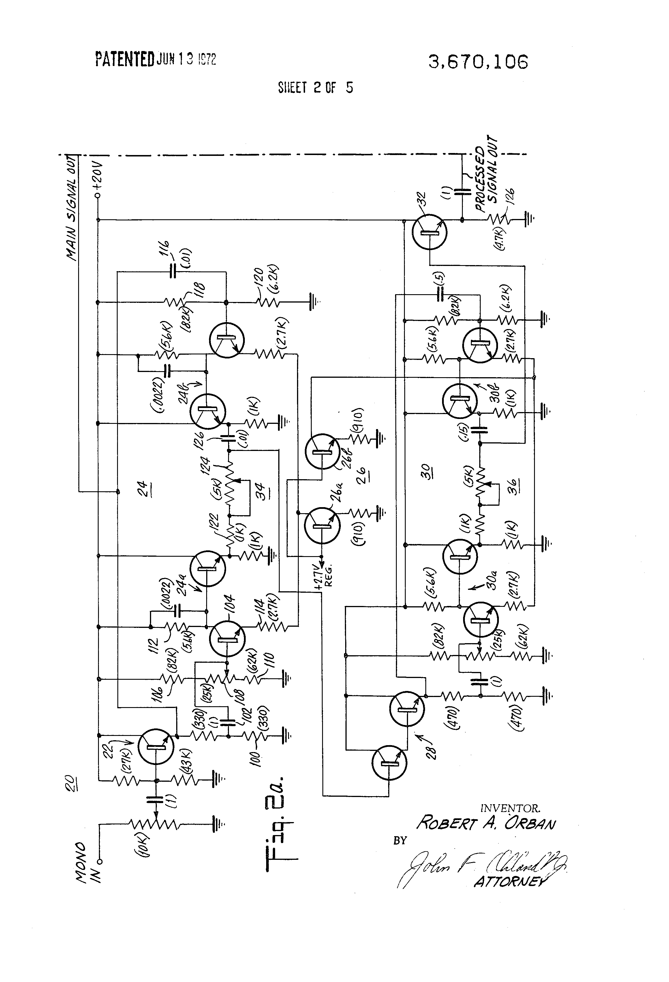 patent us3670106 stereo synthesizer patenten