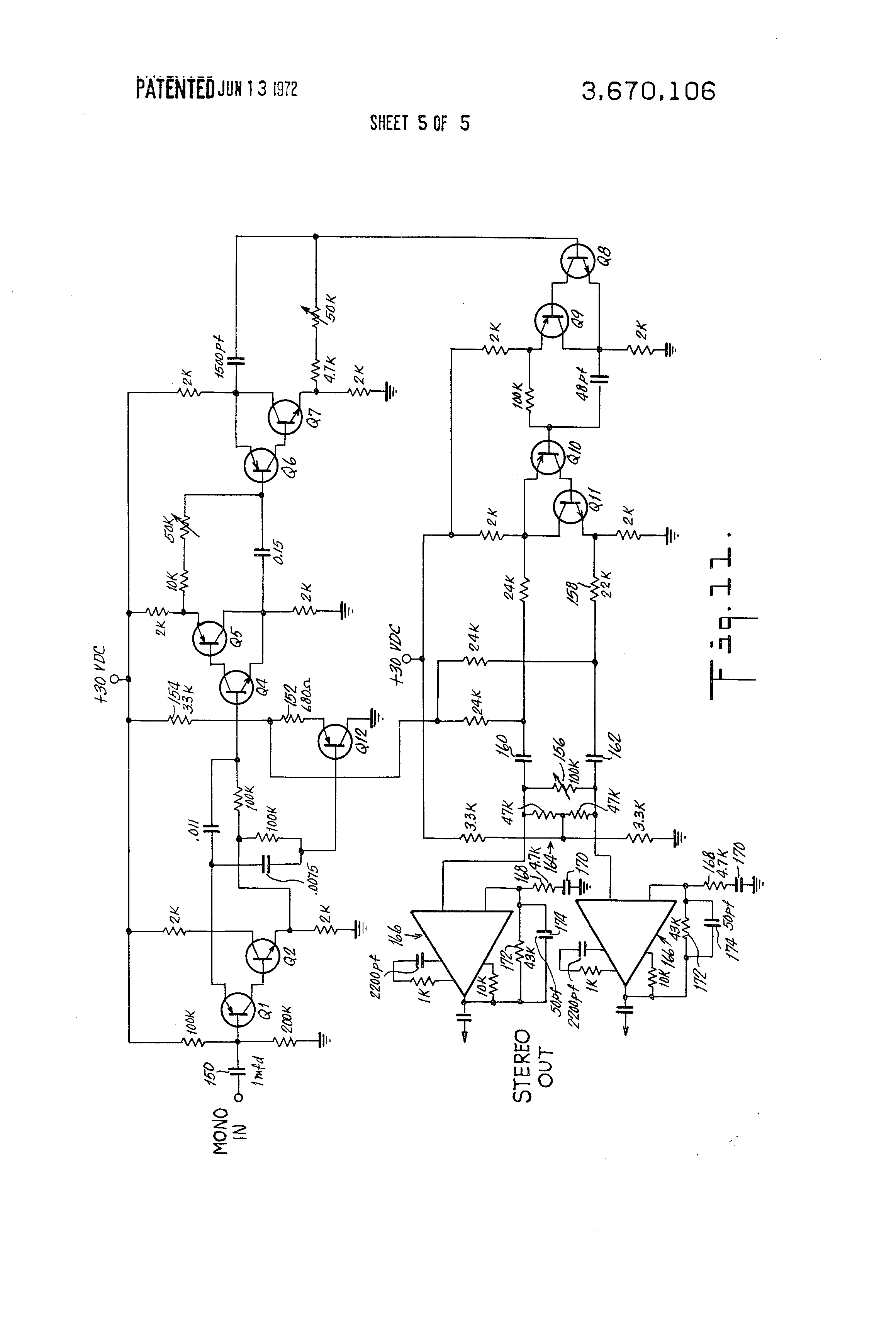 patent us3670106 stereo synthesizer patents