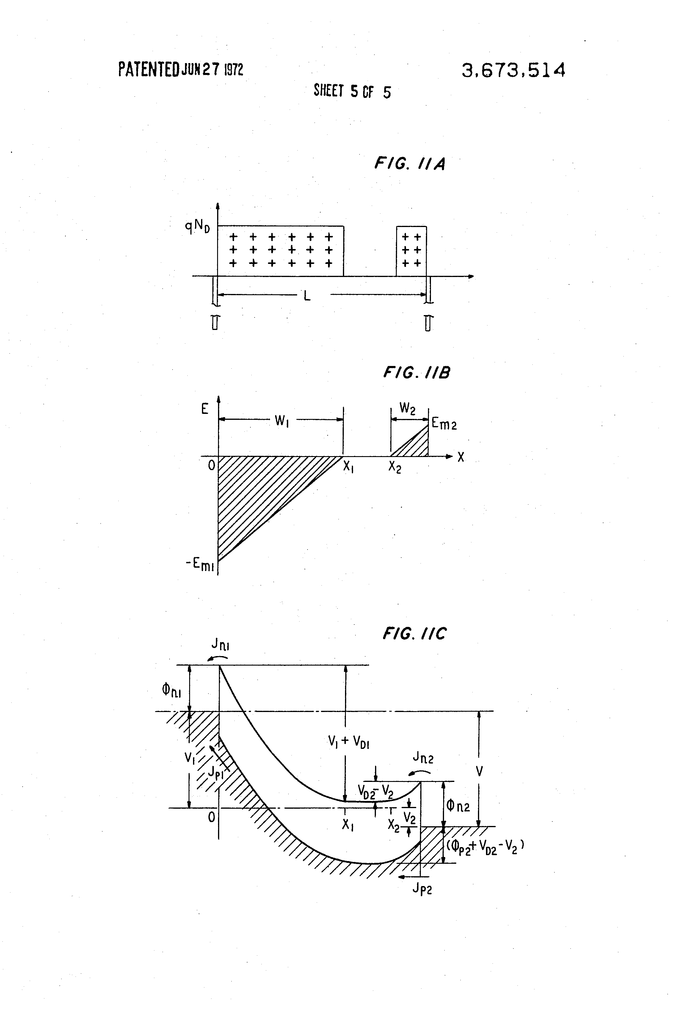 Brevet Us3673514 Schottky Barrier Transit Time Negative Resistance Diode Circuits Patent Drawing