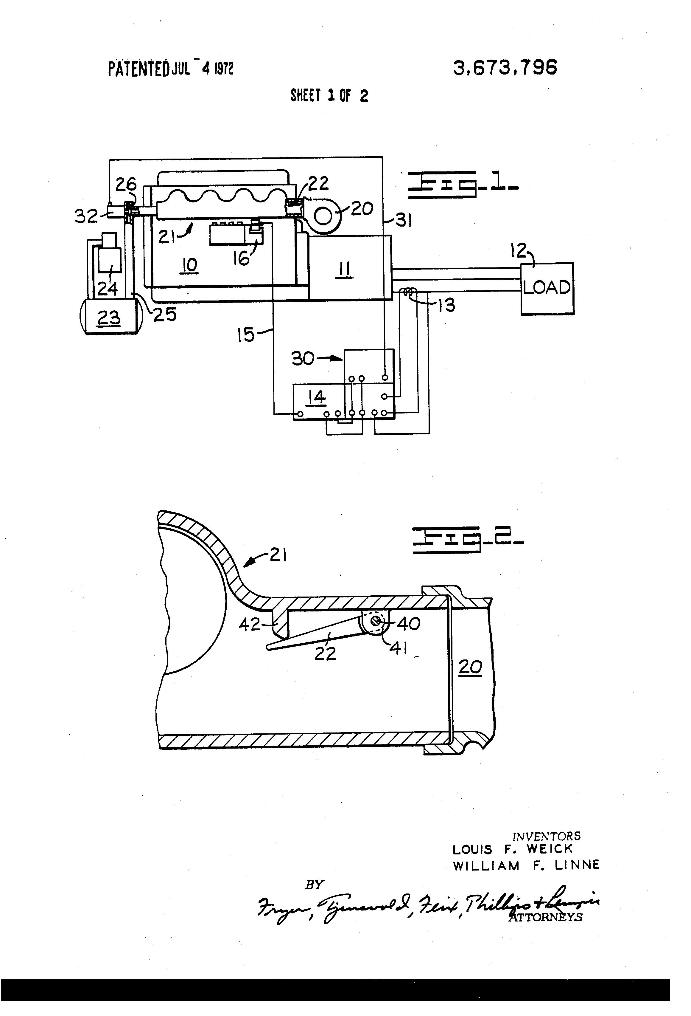 Patente Us3673796 Anticipating Air Injection System For Cat Turbocharger Diagram Of Engine Patent Drawing