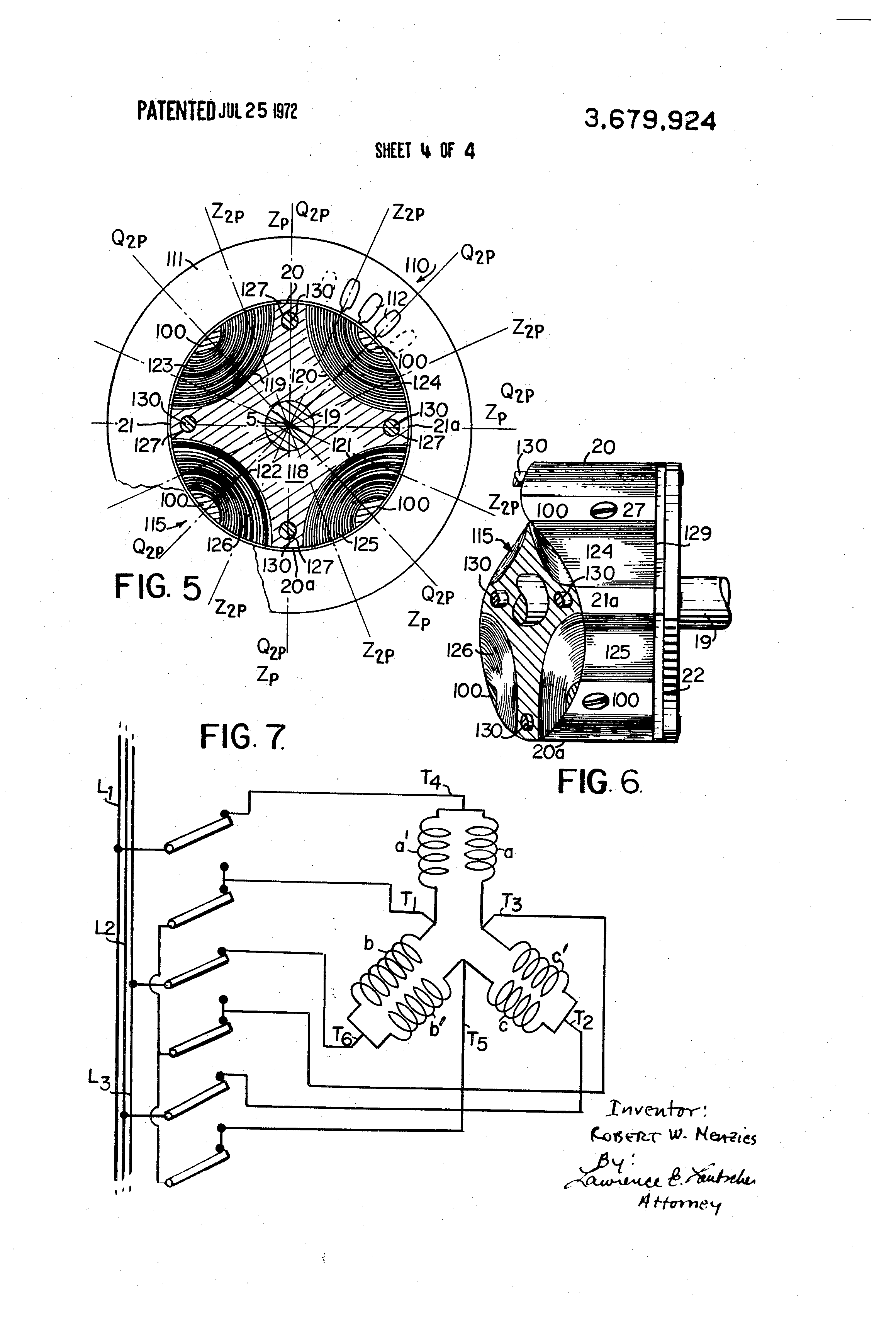 Patent us3679924 synchronous reluctance motors and for Synchronous motor speed control method