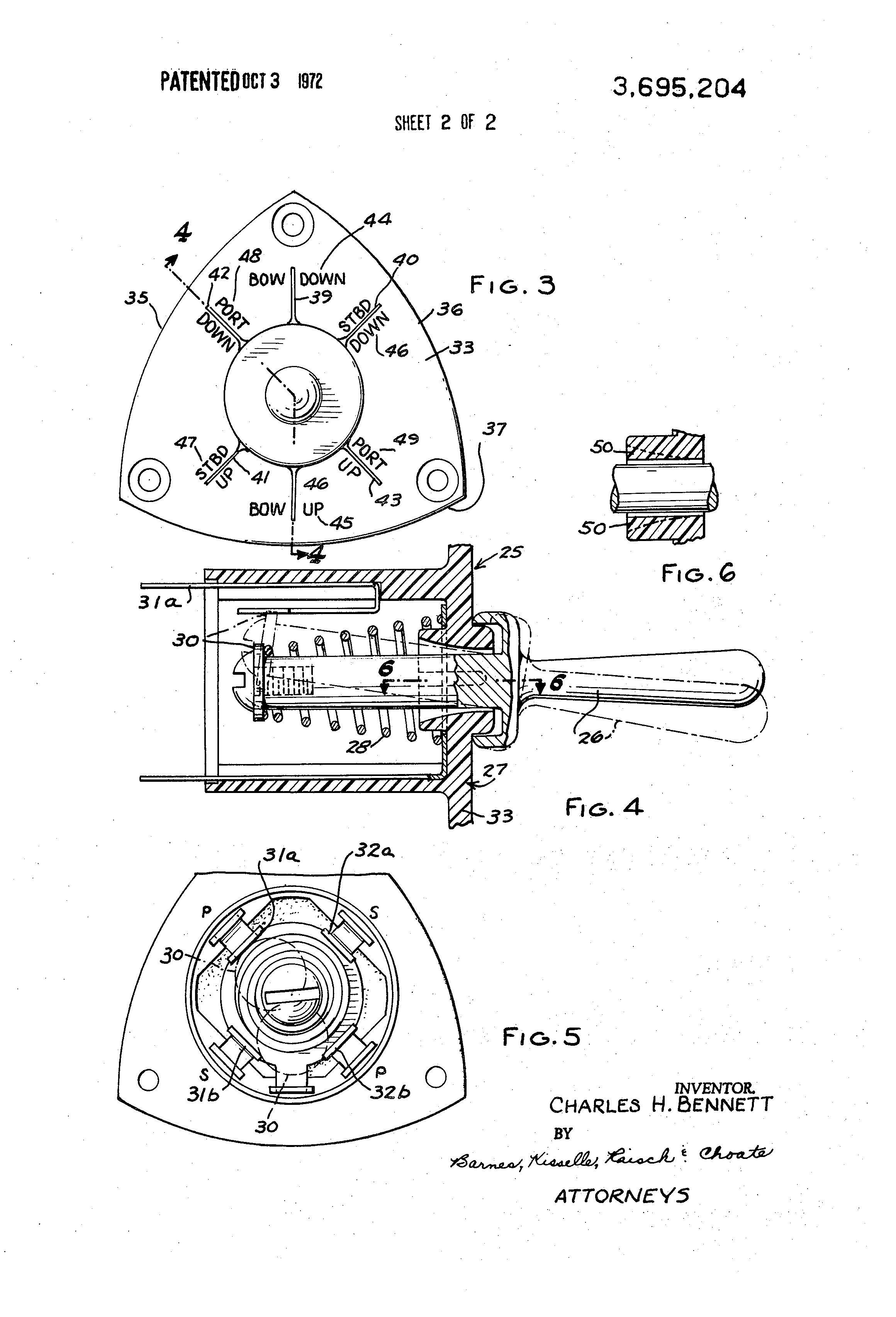 patent us3695204 - power boat with trim tabs