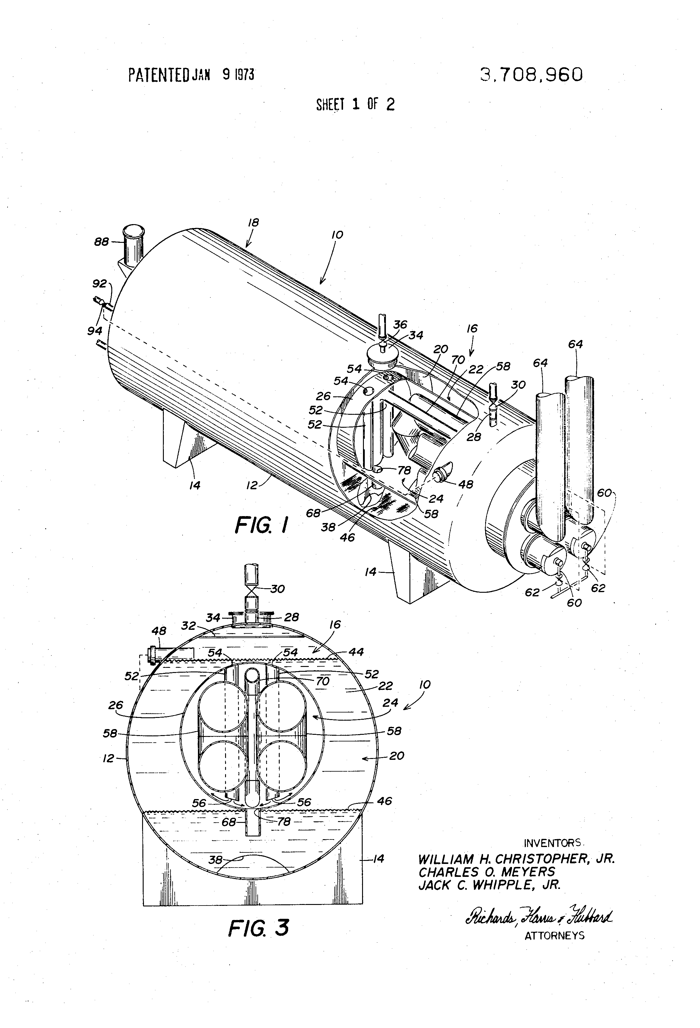 patent us3708960 - heater-treater