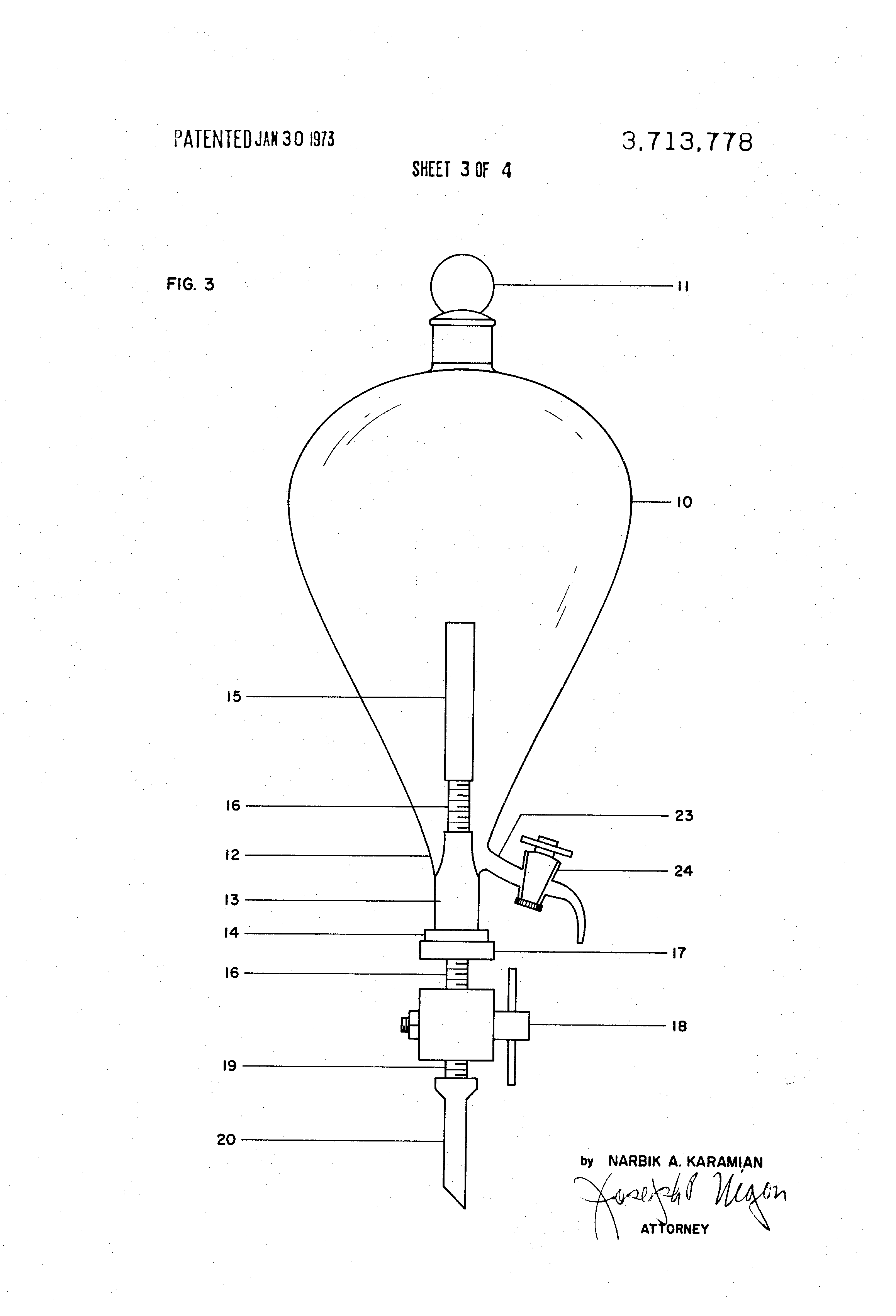 Separatory funnel diagram free download wiring diagram patent us3713778 separatory funnel google patents separatory funnel diagram 27 separatory funnel structure separatory flask pooptronica Images